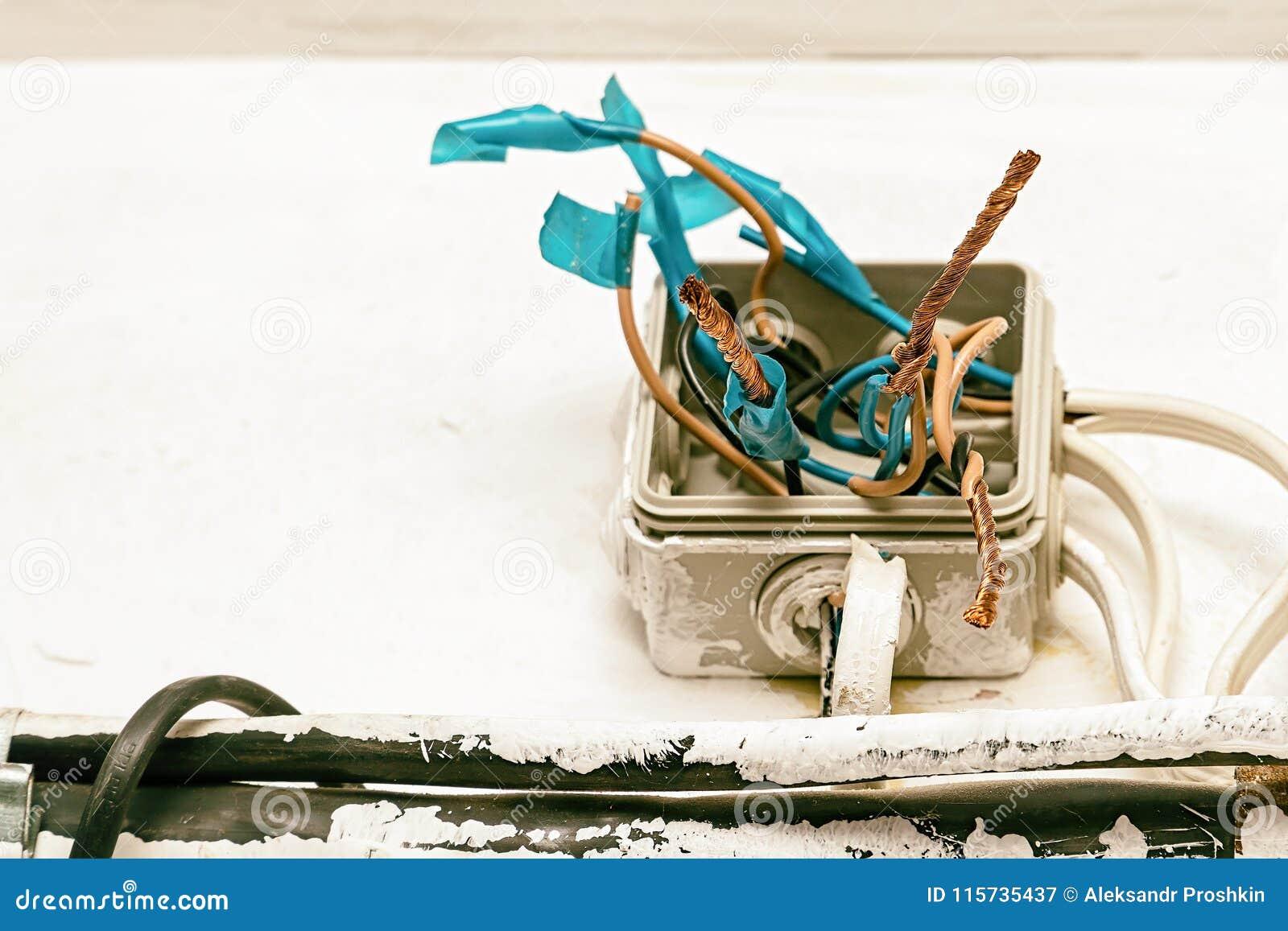 Gevaar elektro bedrading