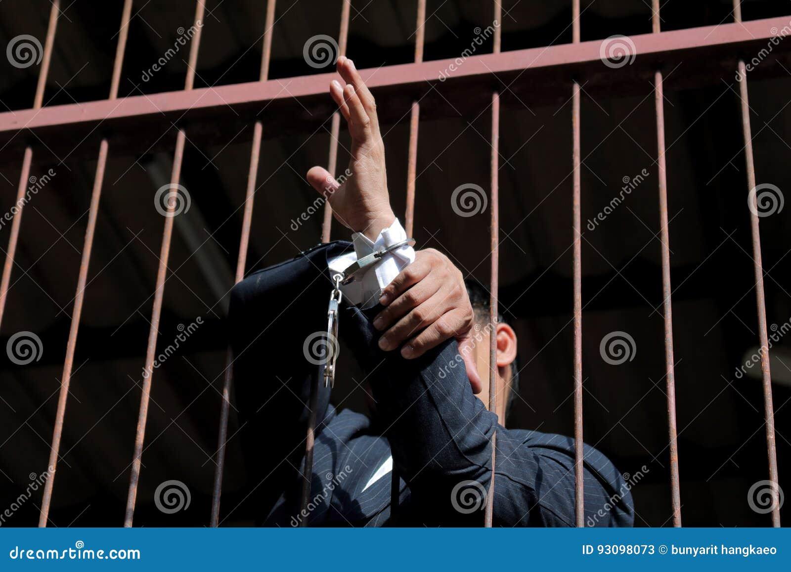 Gevangene in gevangenis