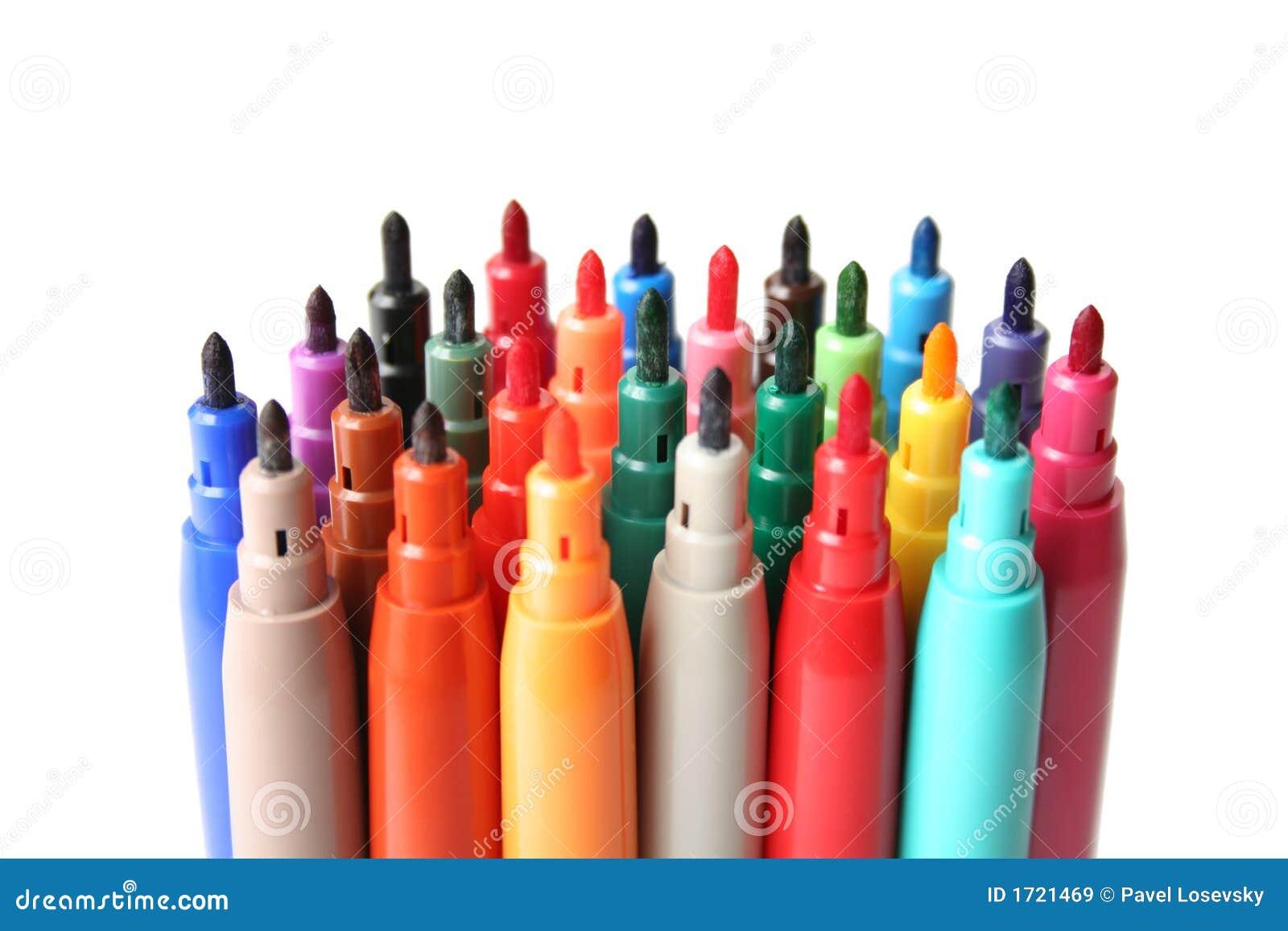 Gevoelde pennen