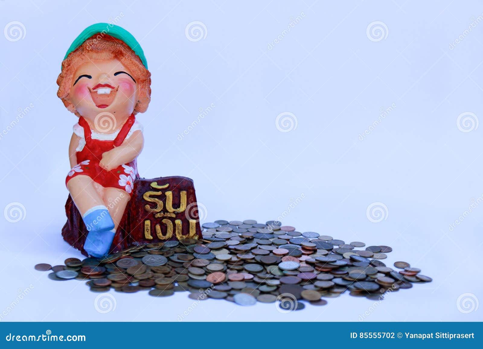 Gewann irgendeine Geld Puppe