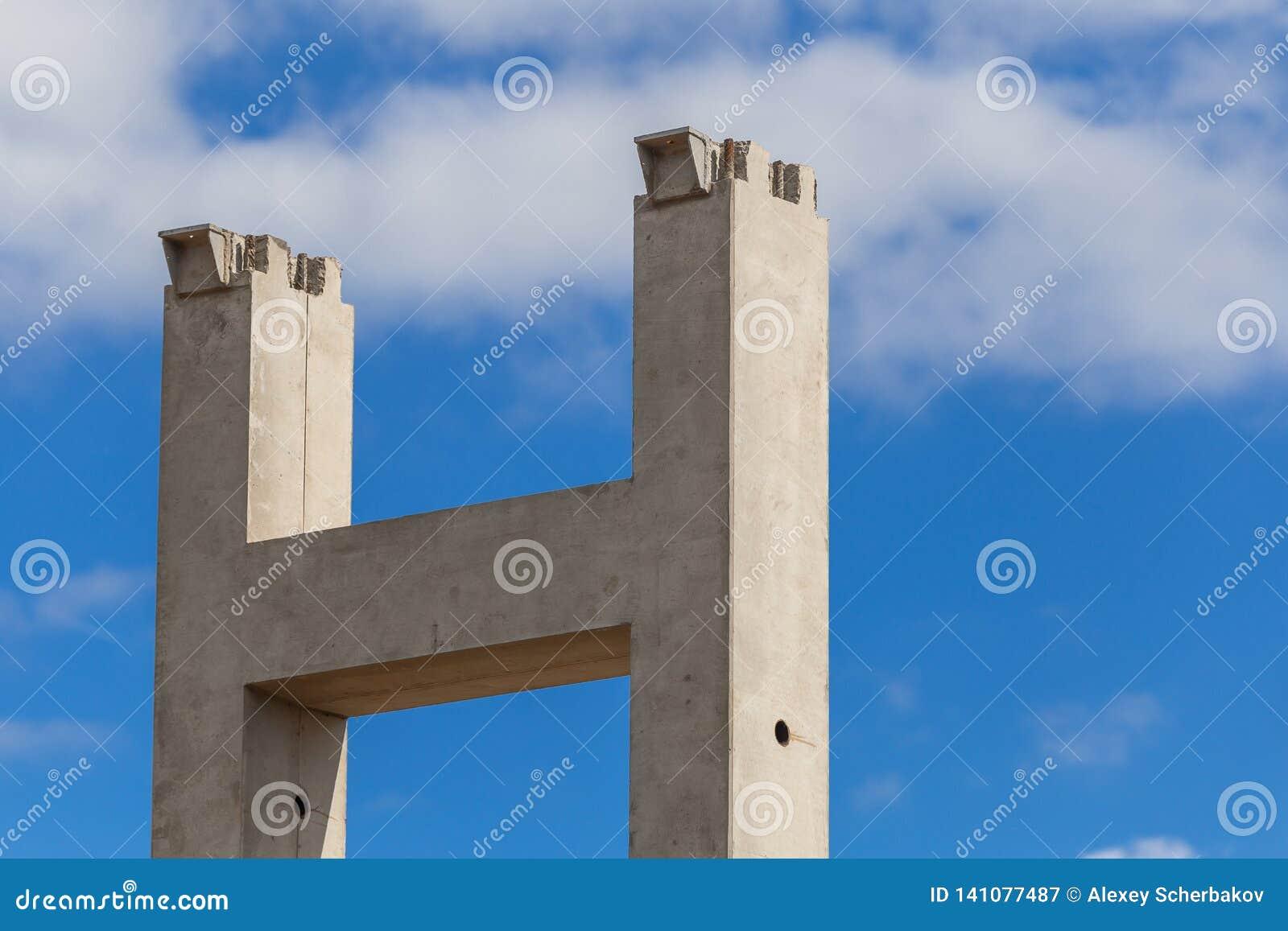 Gewapend beton kolommen