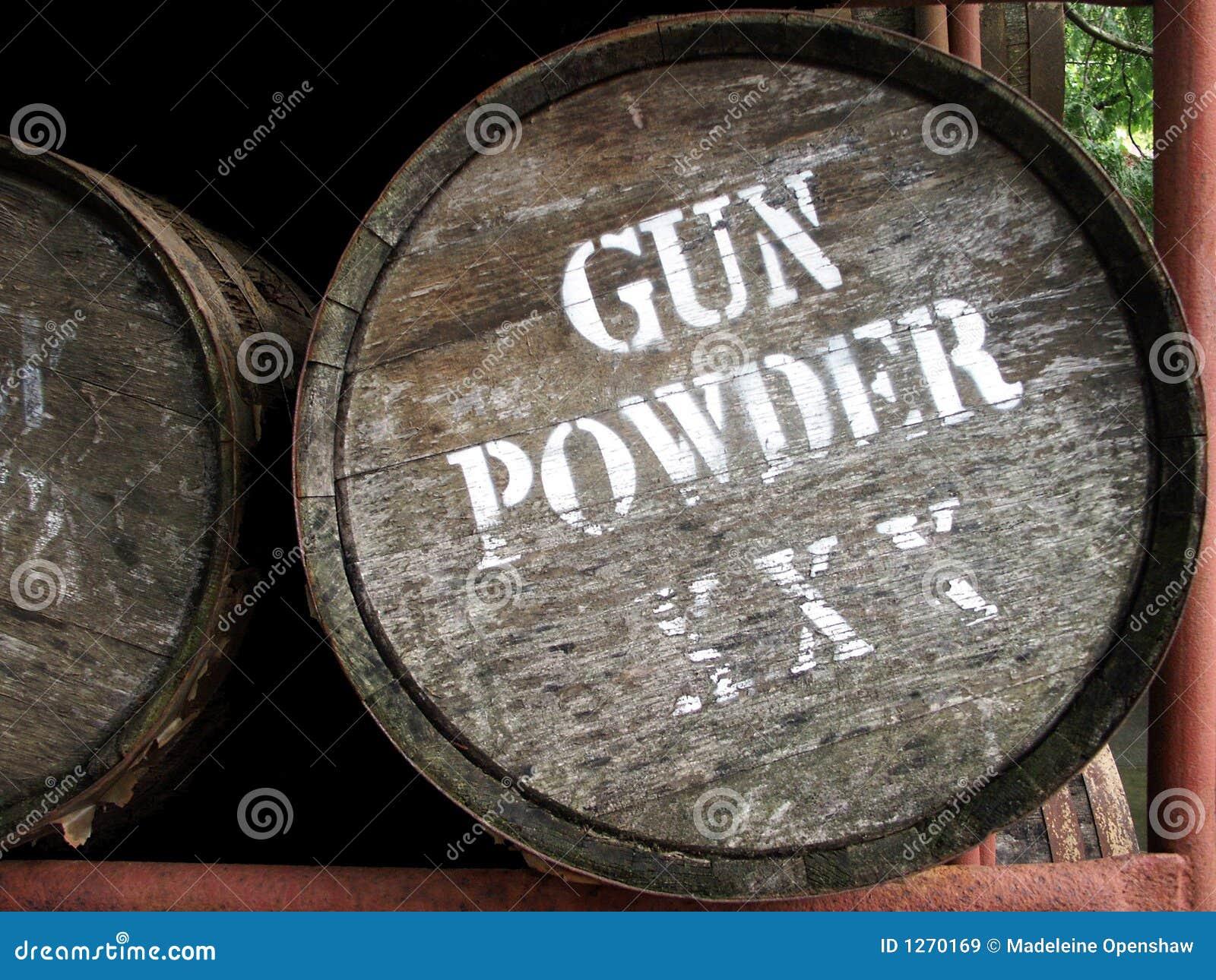 Gewehr-Puder-Faß