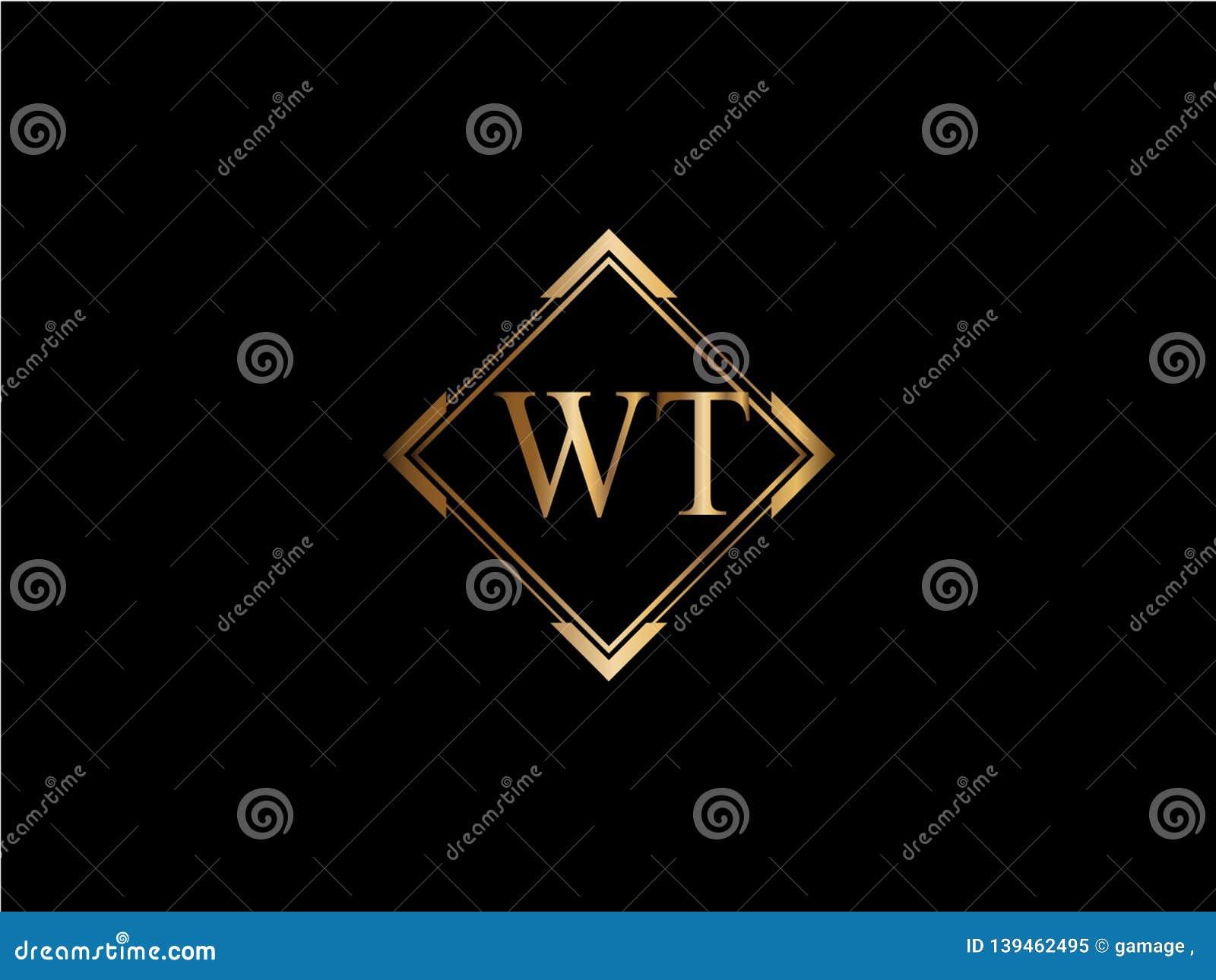 GEWICHTSanfangsdiamantform Goldfarbe neuerer Logo Design