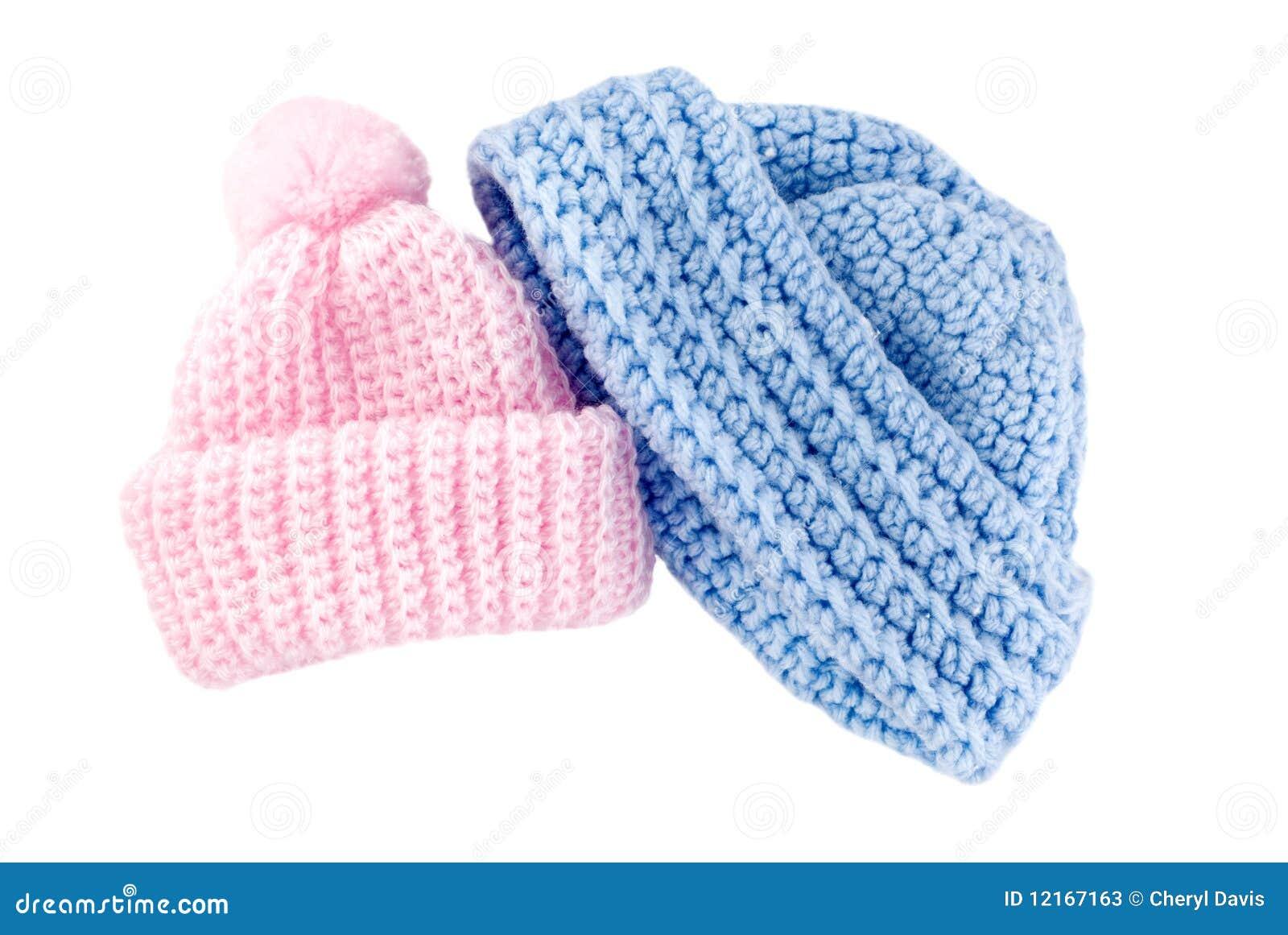 Gewirkte Schätzchen-Hüte für Jungen und Mädchen