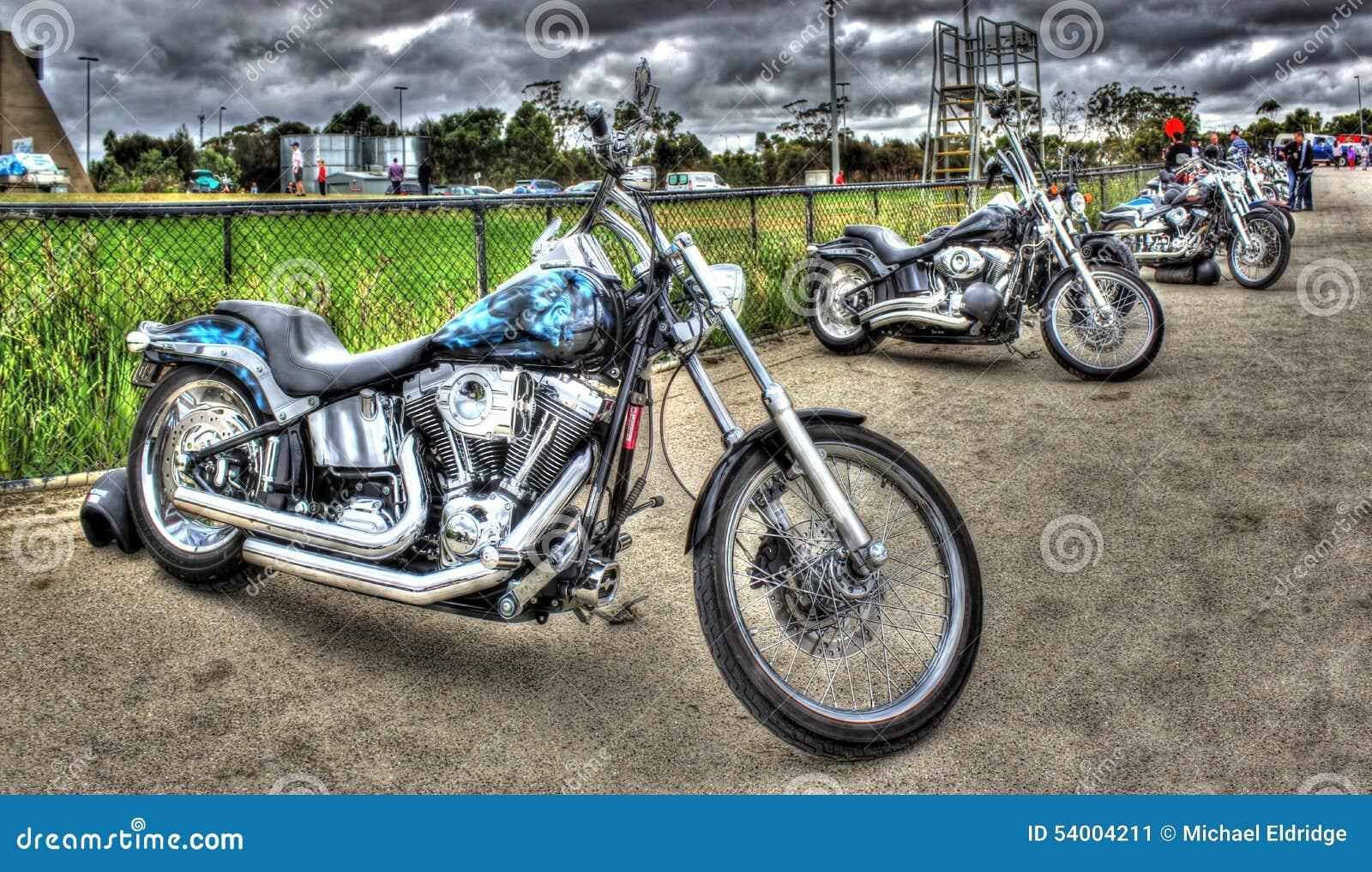 Gewohnheit gemalte Motorräder