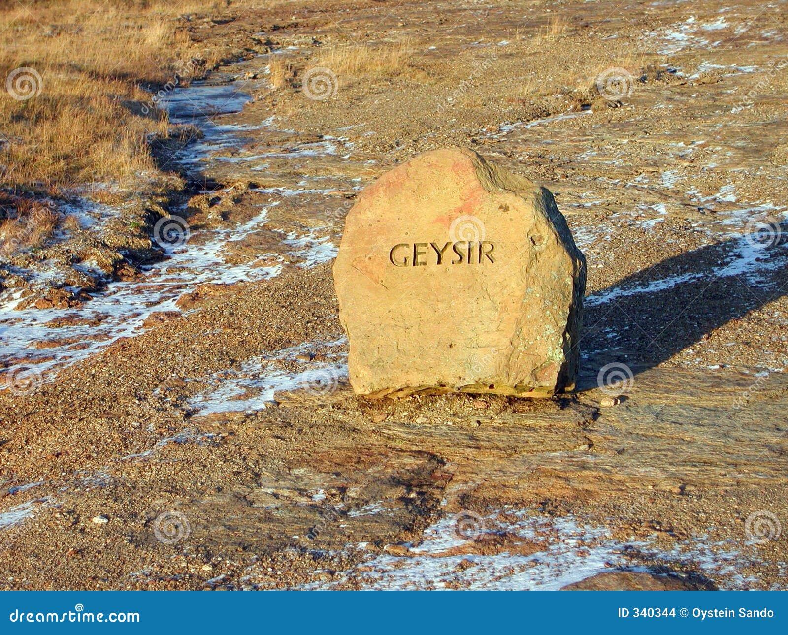 Geysir, Islande