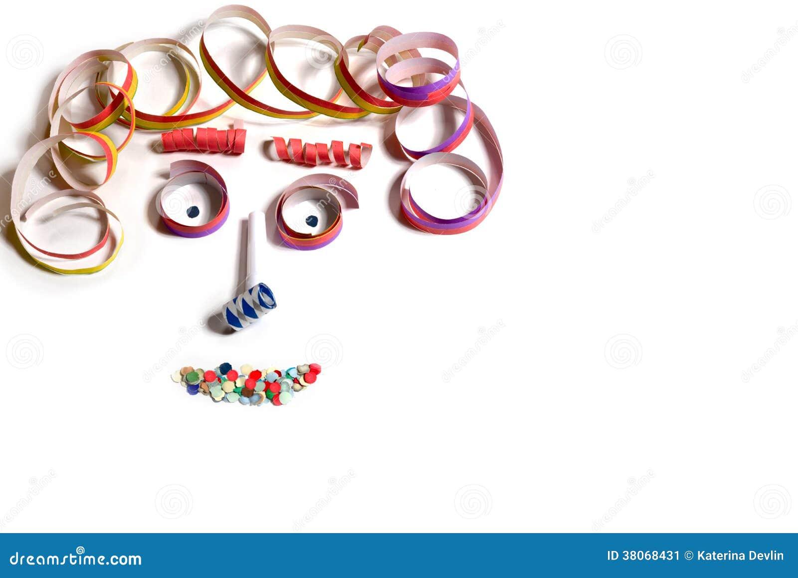 Gezicht van carnaval decoratie stock afbeelding afbeelding 38068431 - Afbeelding van decoratie ...