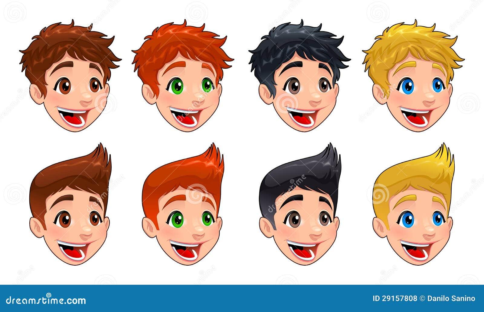 Red hair vs short hair 6