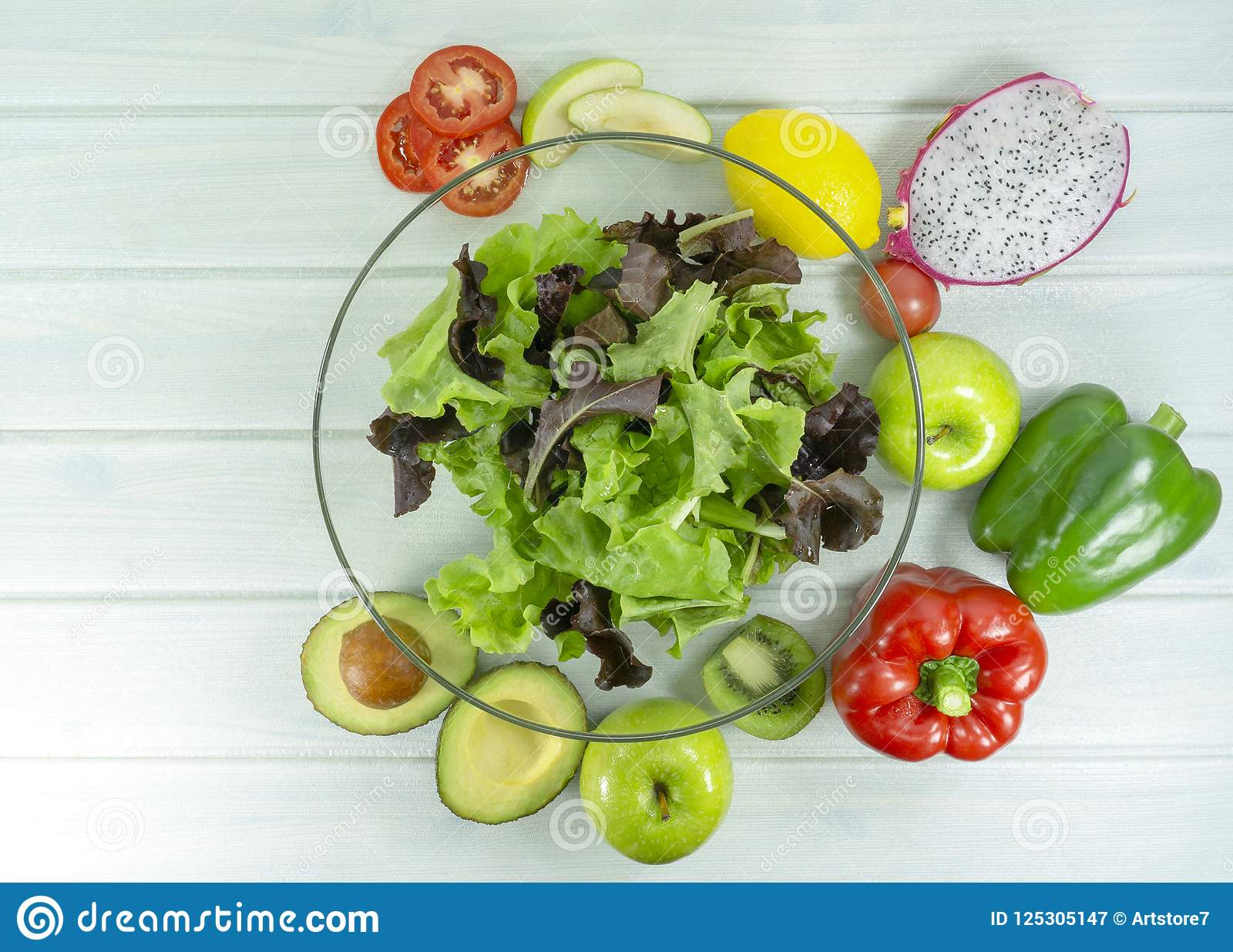 Gezond eigengemaakt veganistvoedsel, vegetarisch dieet, vitaminesnack, voedsel en gezondheidsconcept