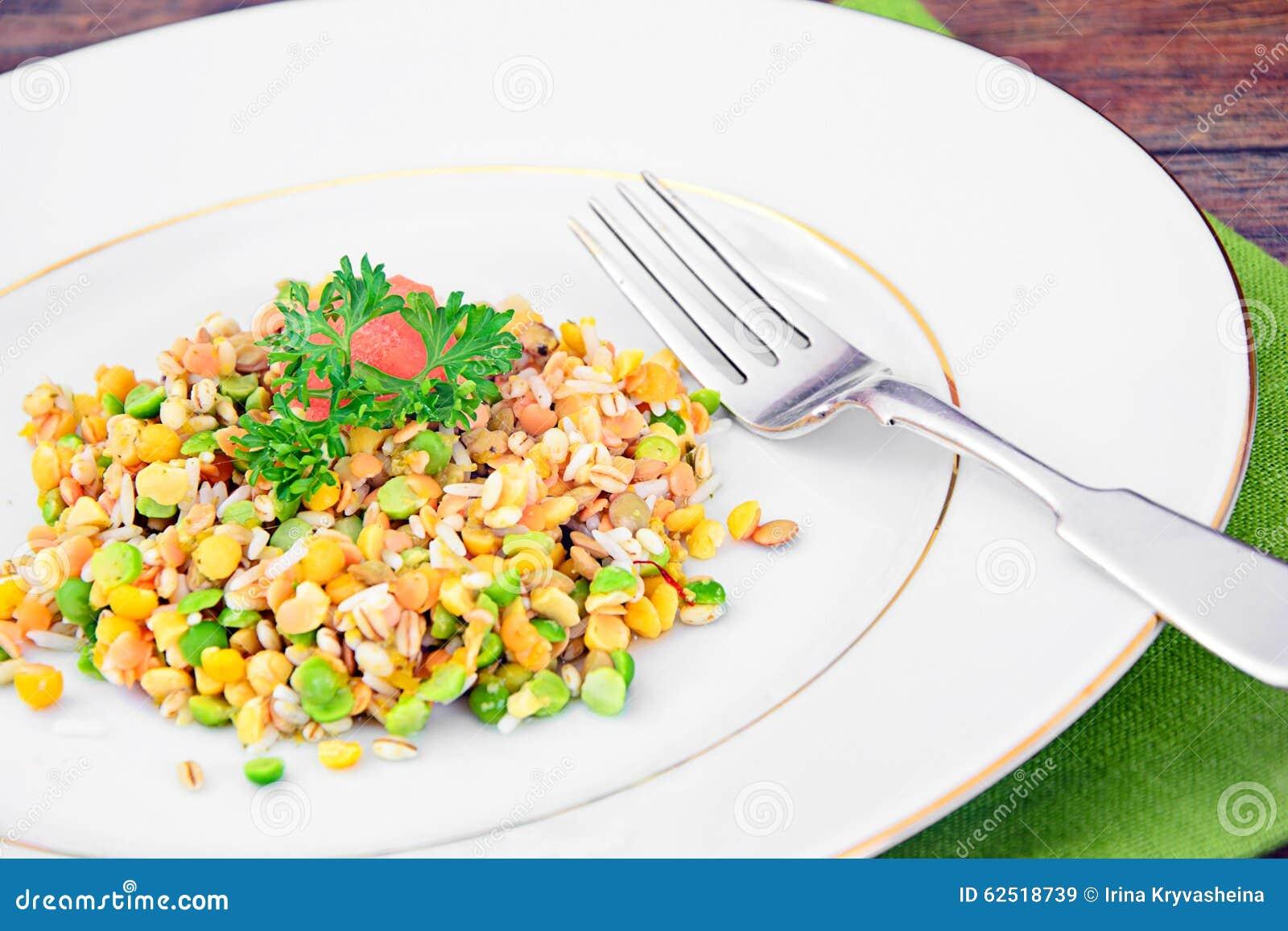 Gezond en Dieetvoedsel: Versier met Linzen