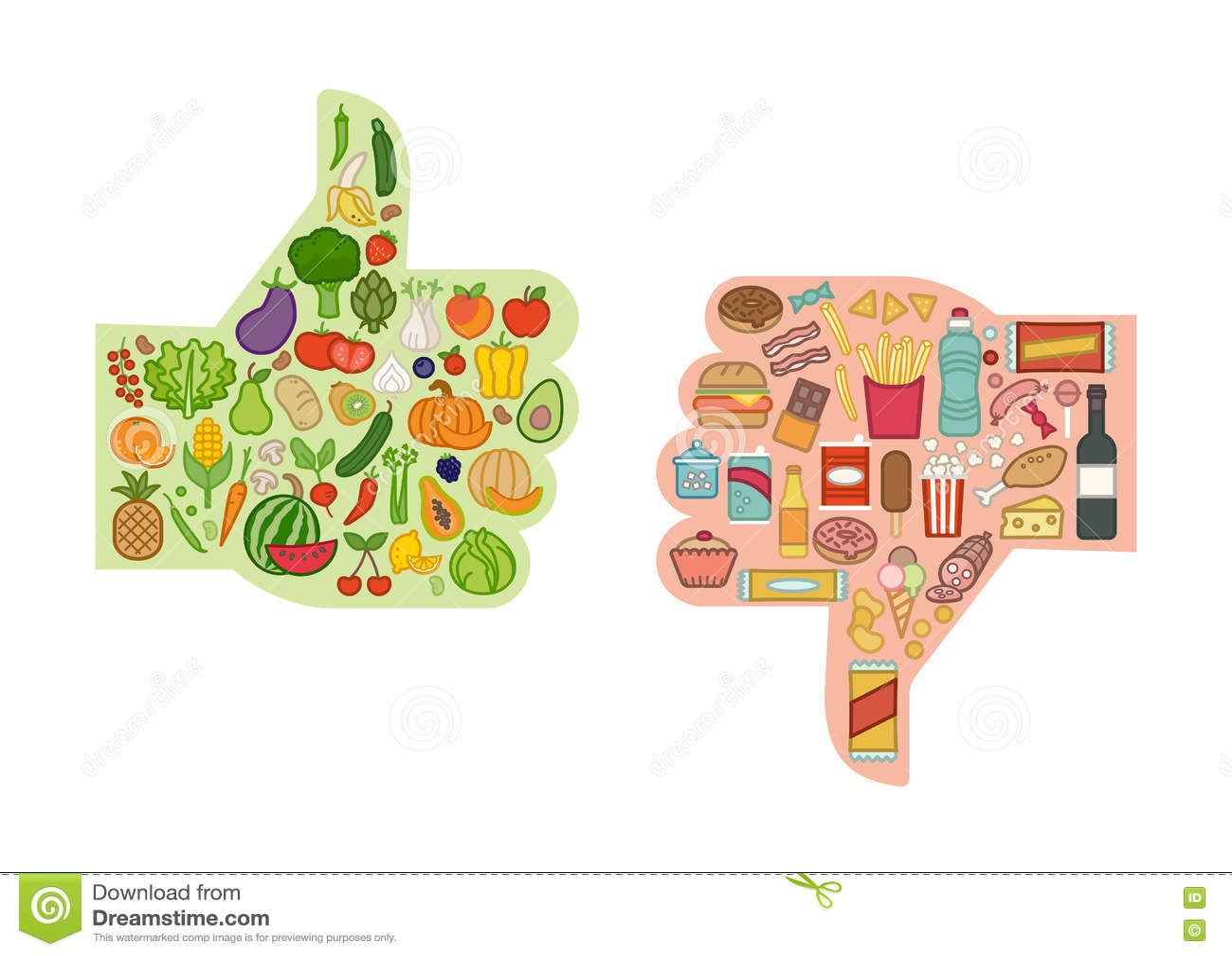 gezond dieet voedsel