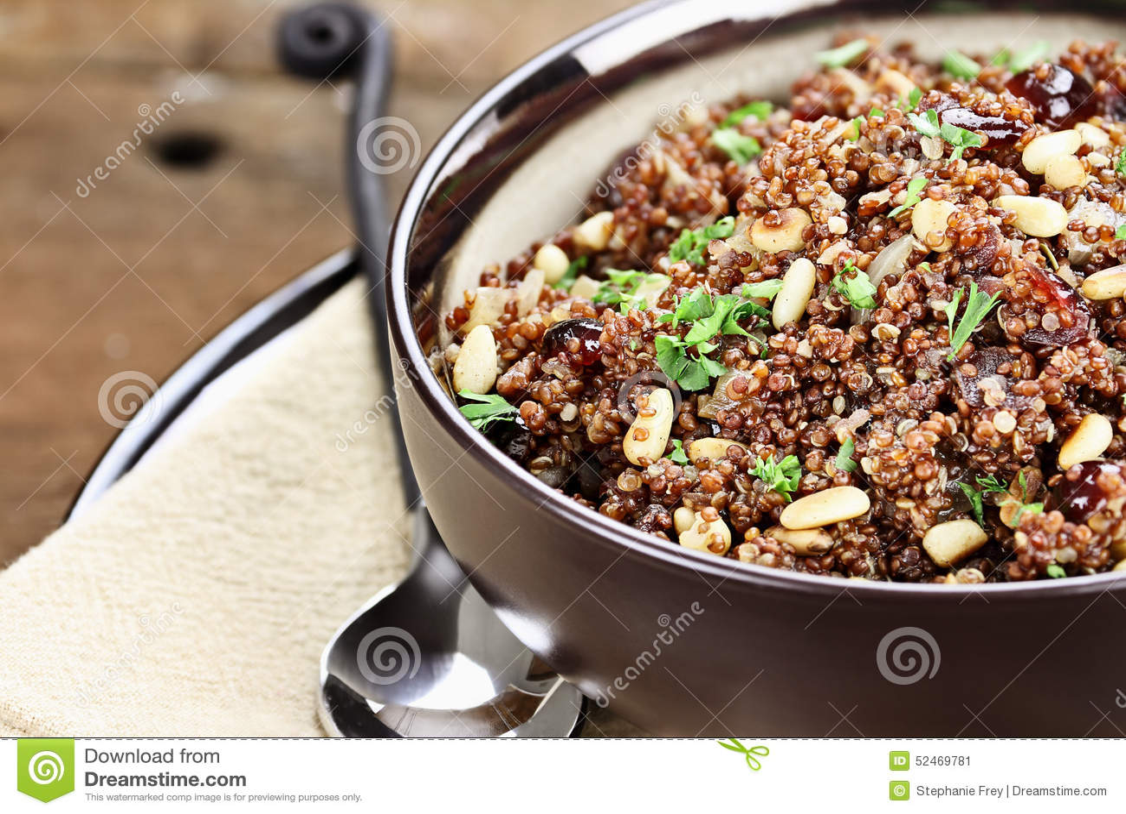 Gezond Quinoa Pilau