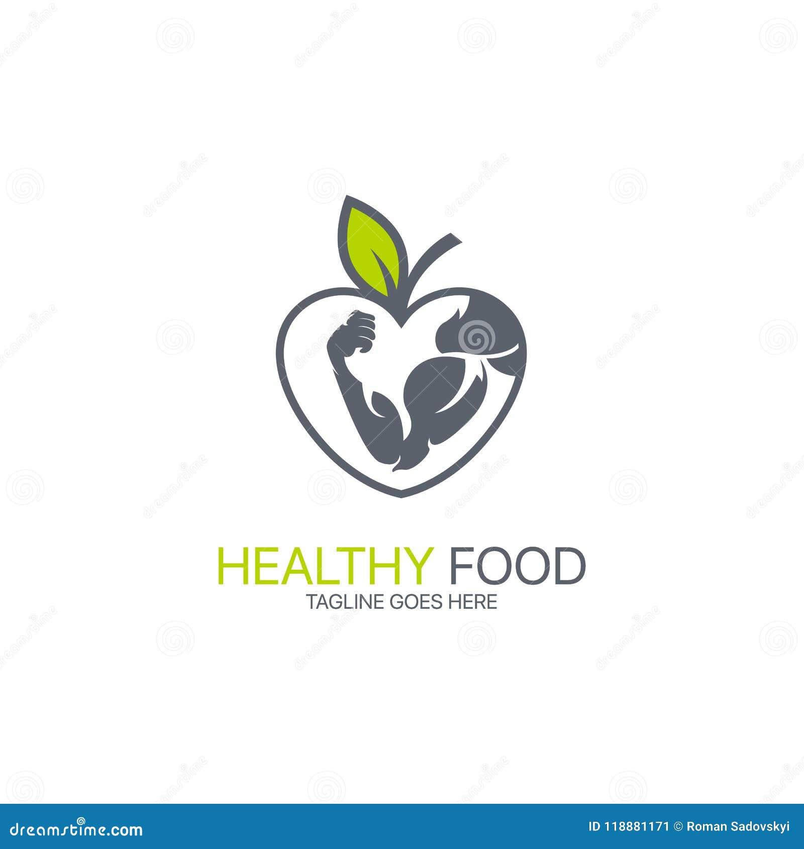 Gezond voedselembleem