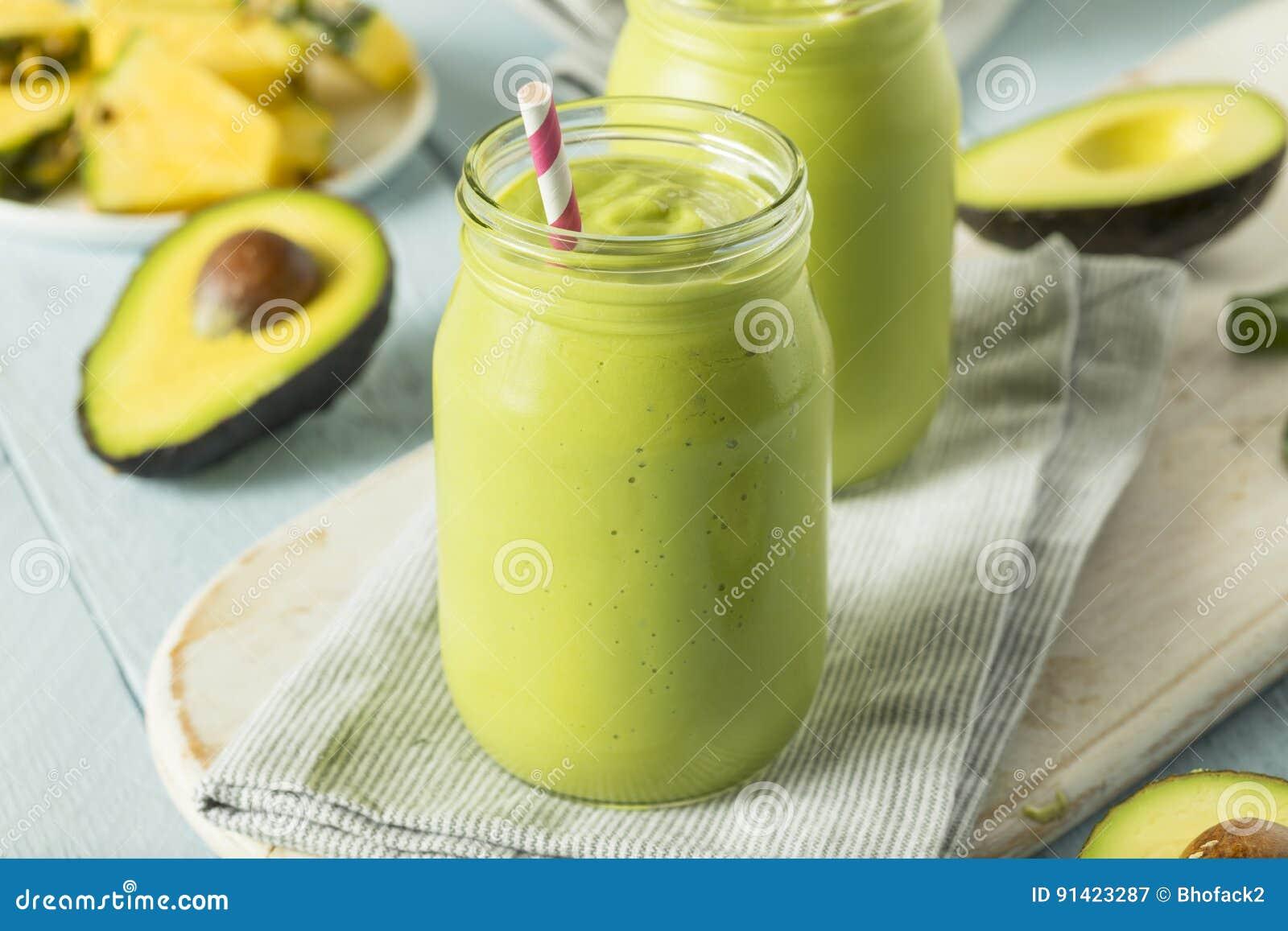 Gezonde Eigengemaakte Avocado Smoothie