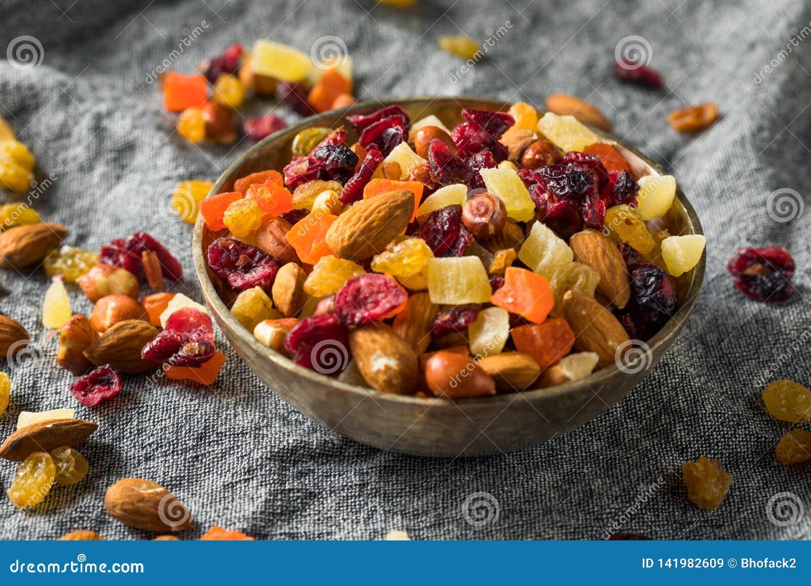 Gezonde Gedroogd fruit en Nootmengeling
