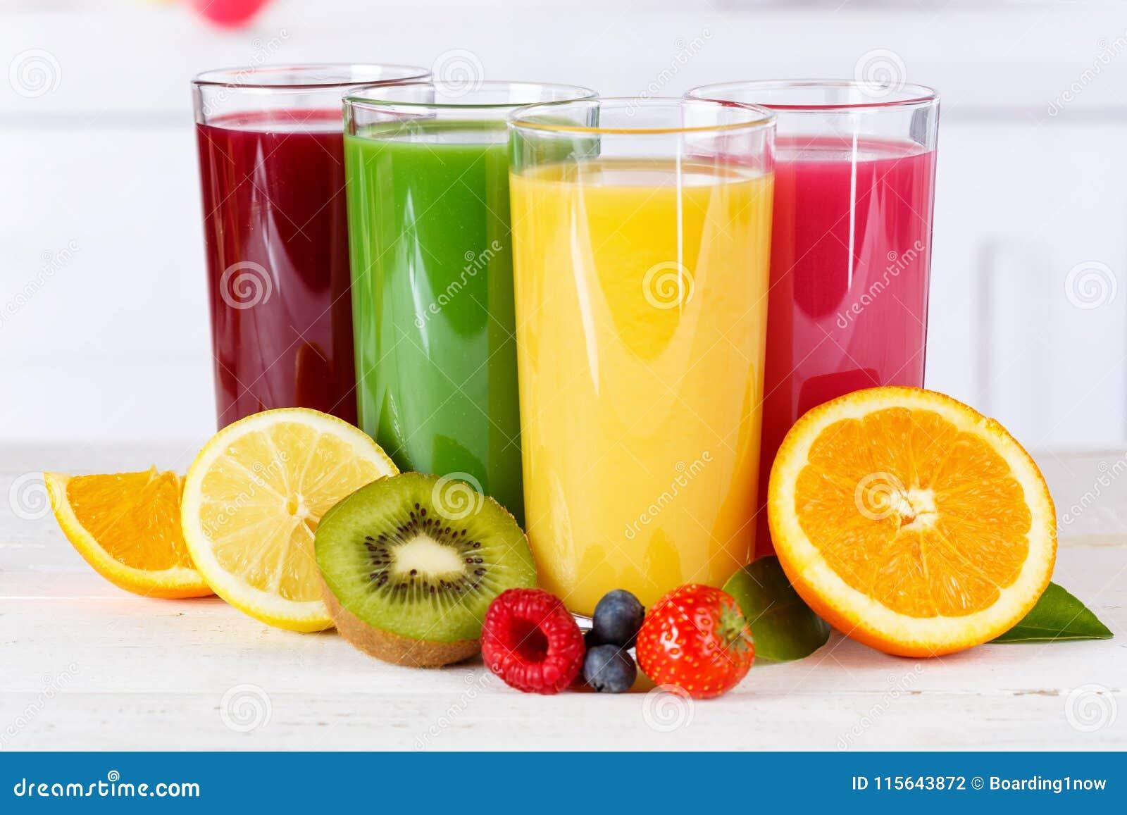 Gezonde het fruitvruchten van sap smoothie smoothies eten de oranje sinaasappelen