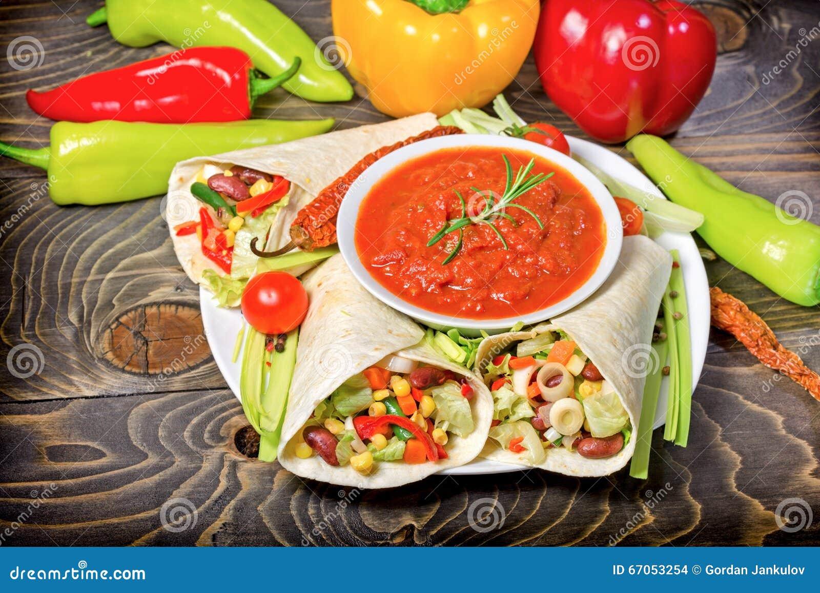 Gezonde maaltijd voedsel vegetarisch voedsel mexicaanse