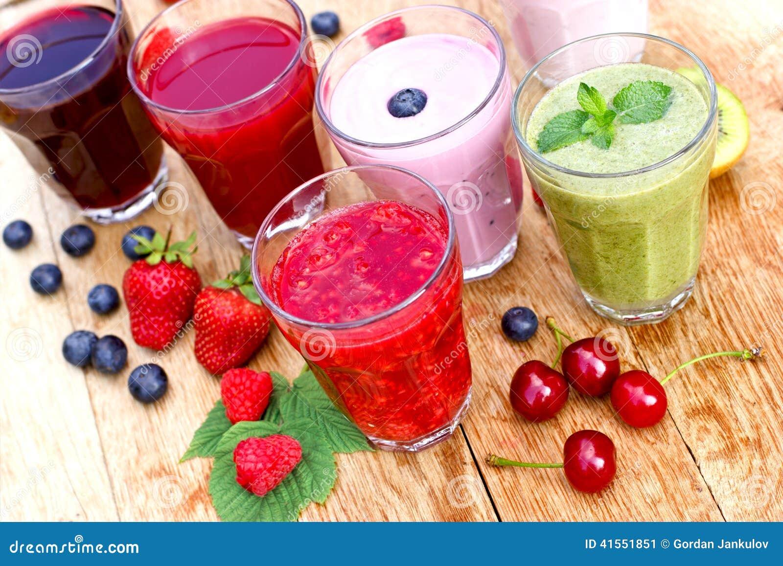 Gezonde organische dranken