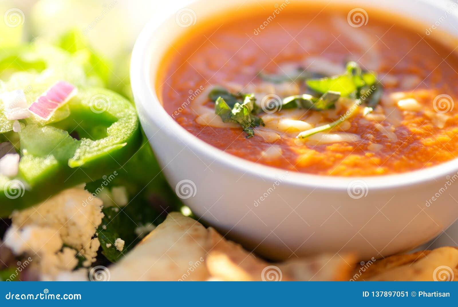 Gezonde soep en salade, Tomatensoep