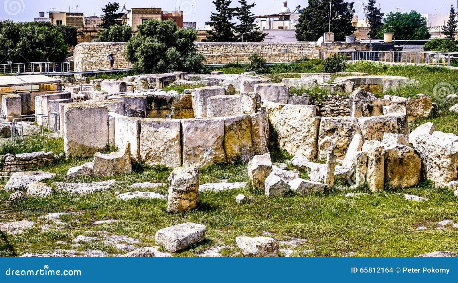Ggantija neolityczna świątynia