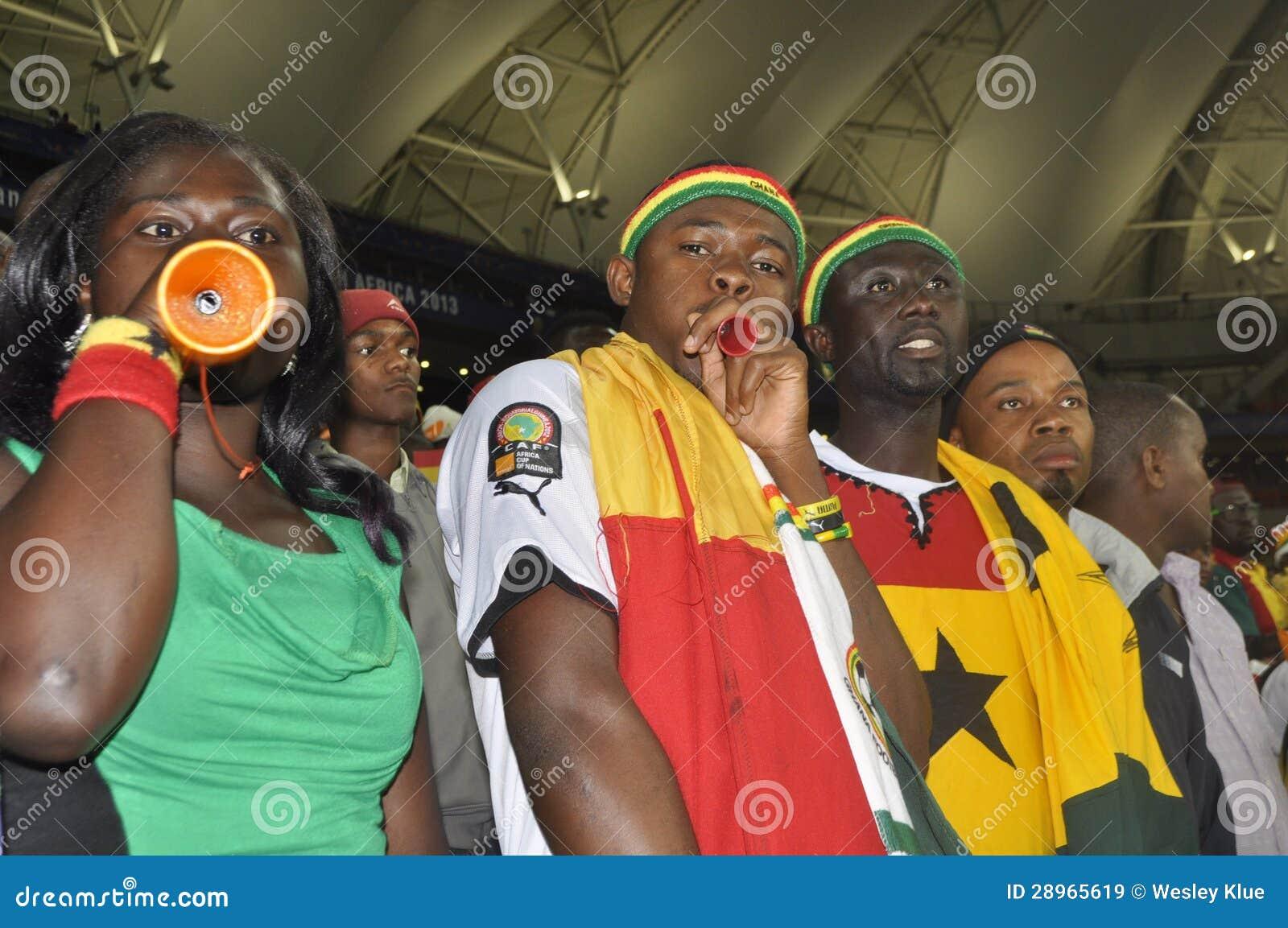 Ghana zwolennicy