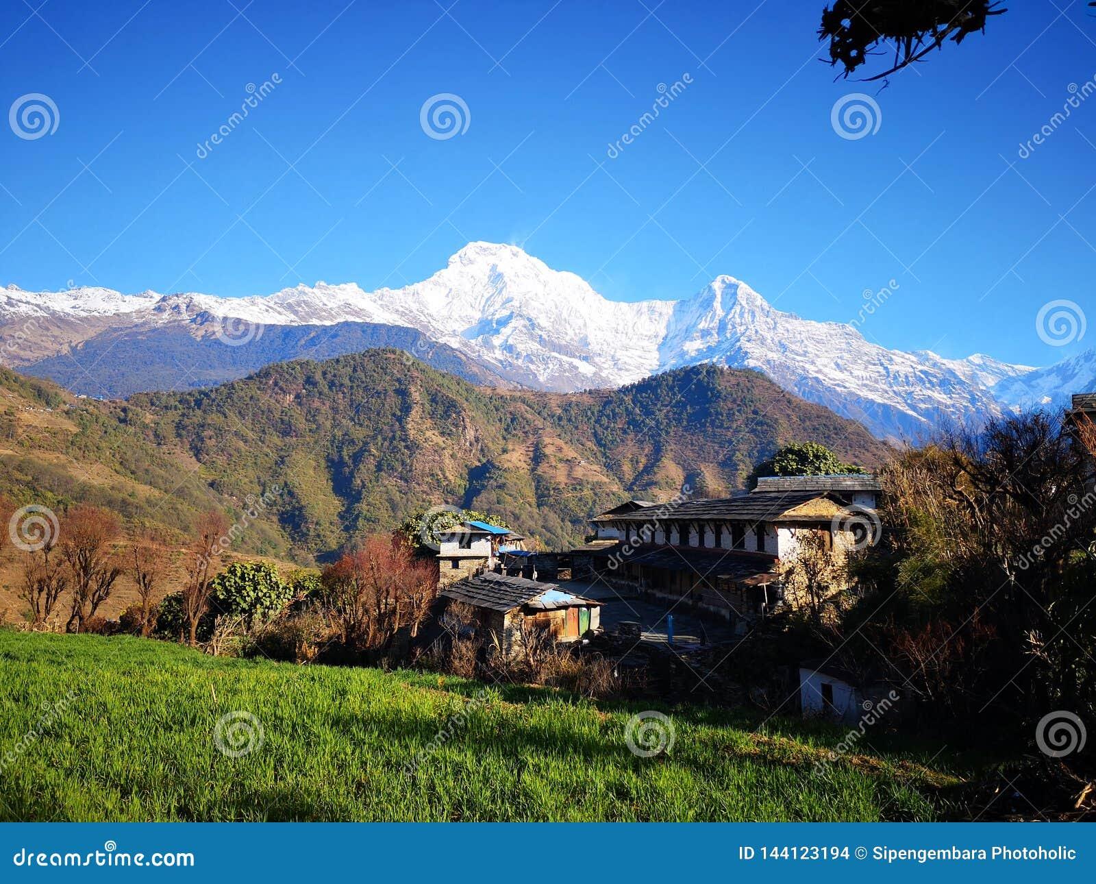 Ghandruk Annapurna Basecamp obwód