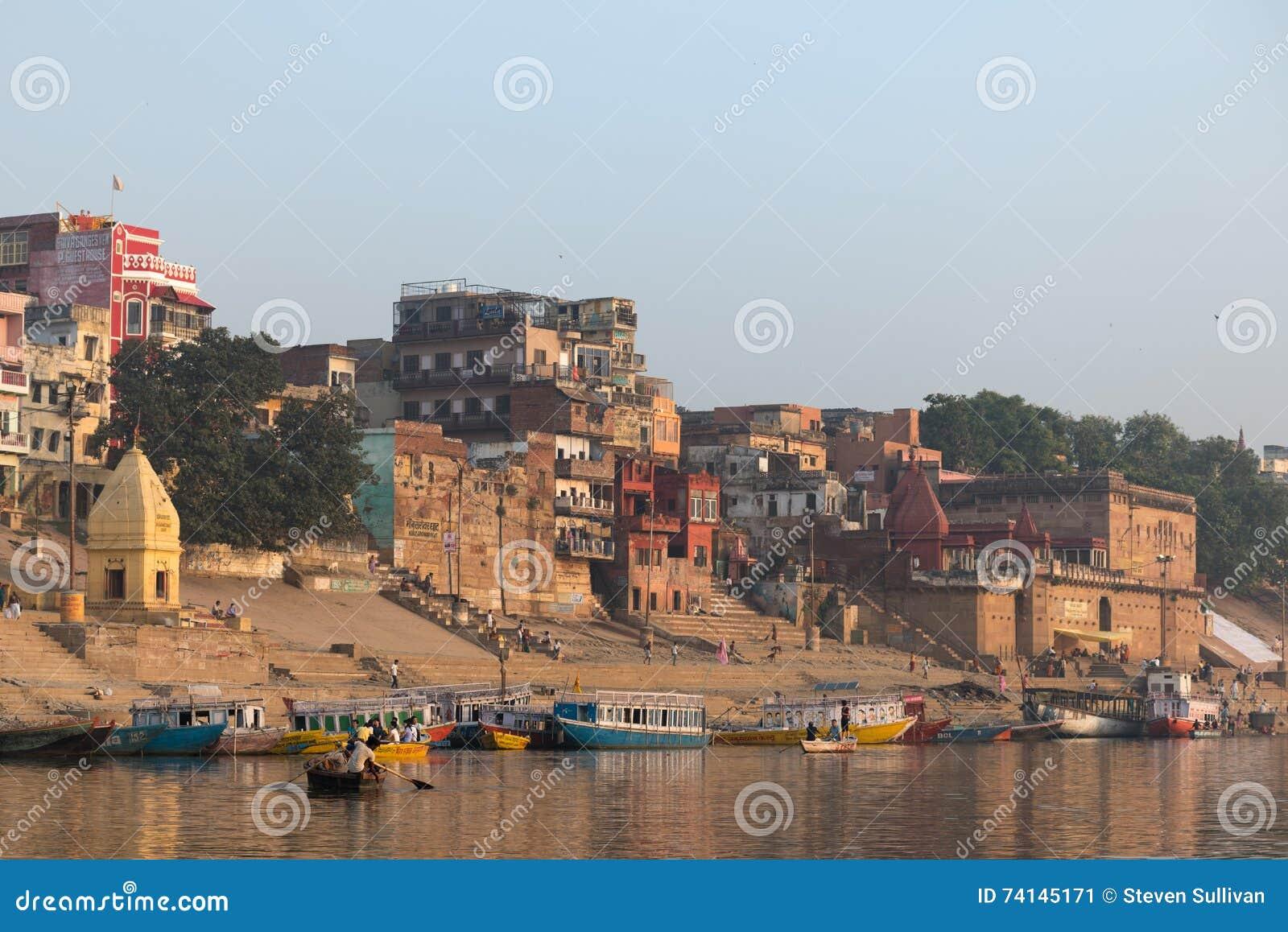 Ghats em Varanasi
