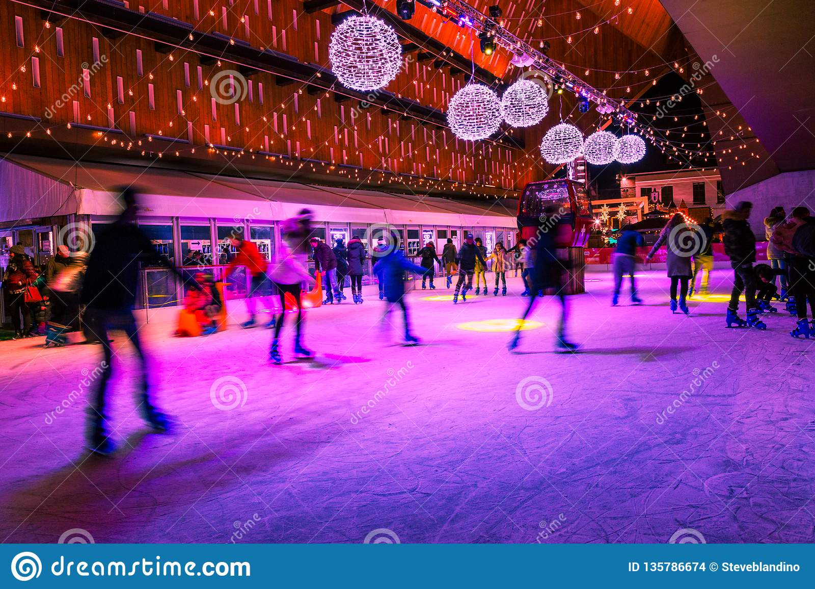 Ghent ice-skating rink