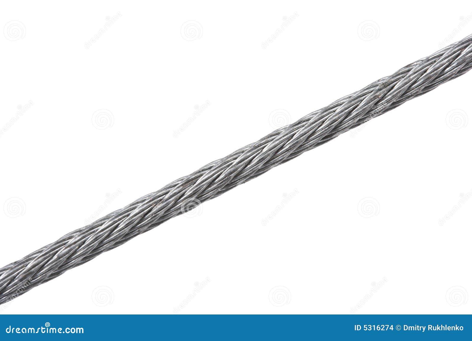 Download Gherlino D'acciaio Isolato Su Bianco Fotografia Stock - Immagine di bianco, metallo: 5316274