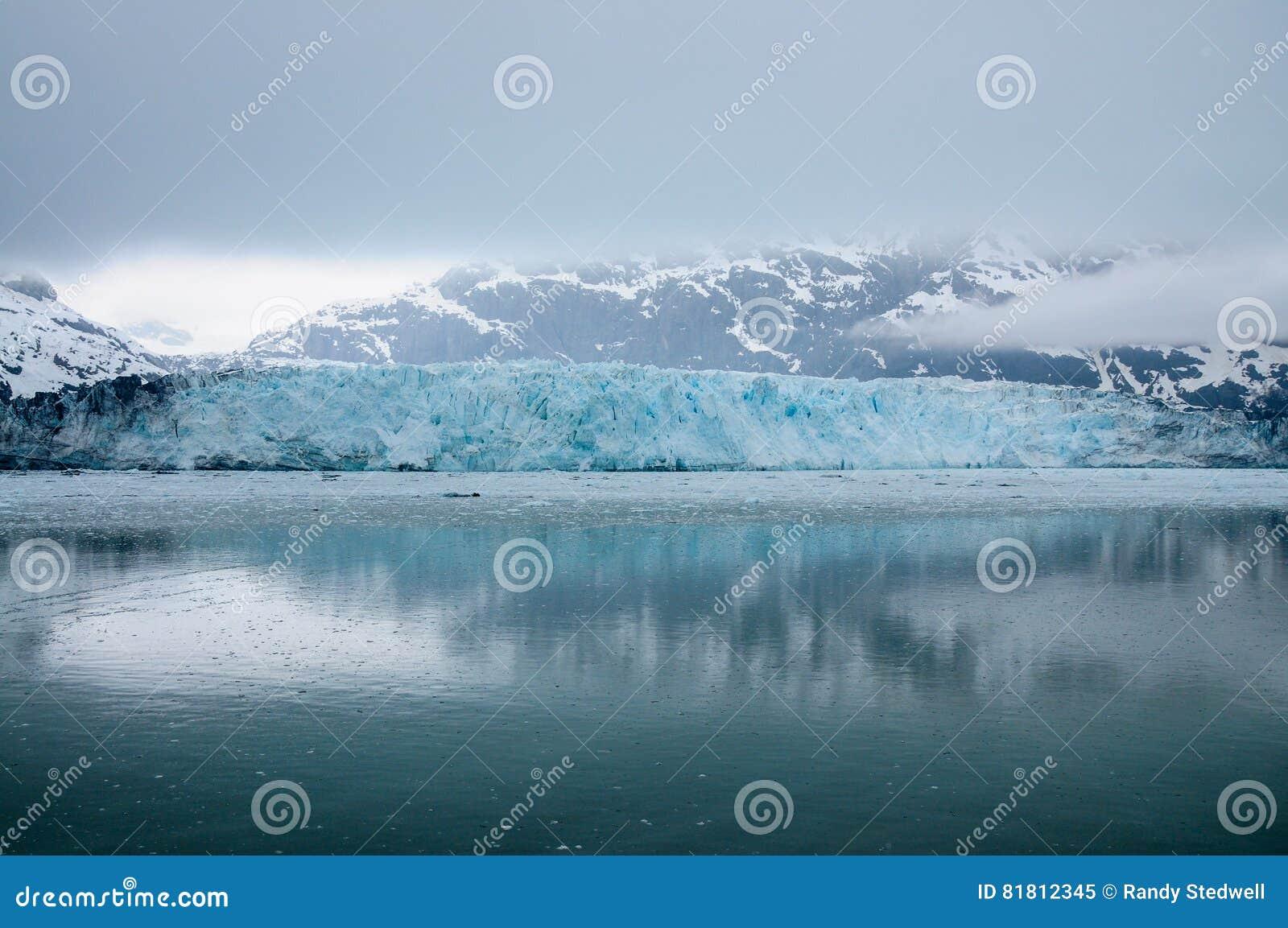 Ghiacciaio di Hubbard Alaska in pieno