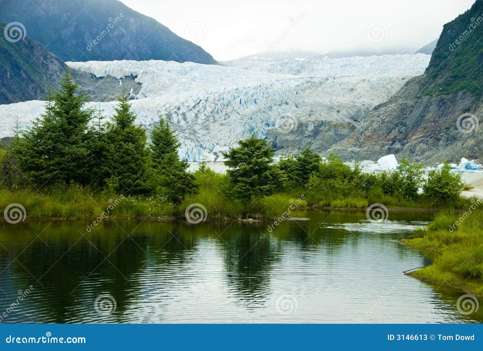 Ghiacciaio a Juneau Alaska