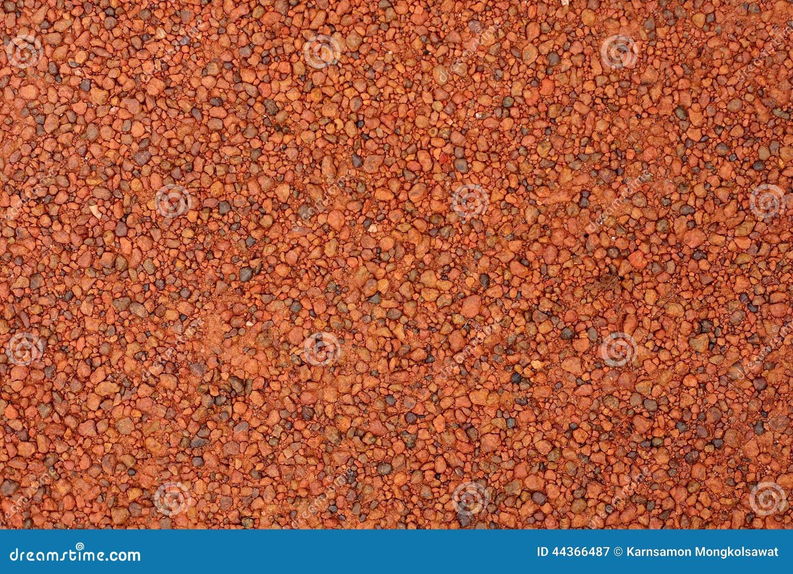 Ghiaia rossa della laterite per fondo