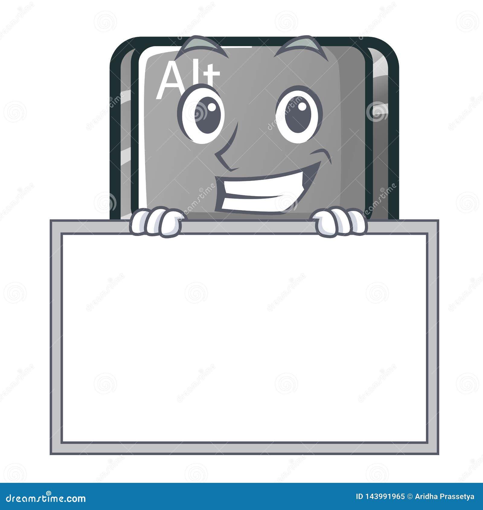 Ghignando con il bottone del bordo alt nella forma del fumetto