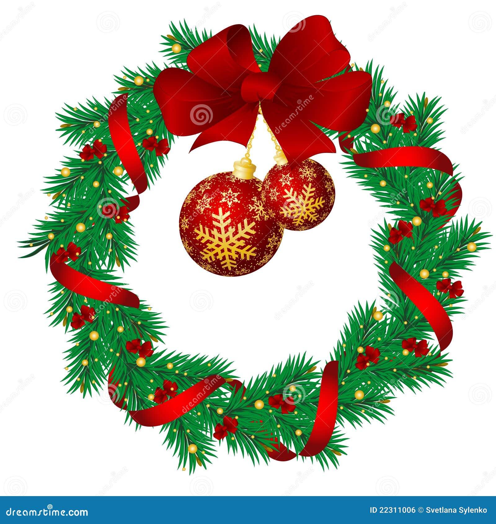 Immagini Di Ghirlande Di Natale.Ghirlande Di Natale Illustrazione Vettoriale Illustrazione Di Dicembre 22311006