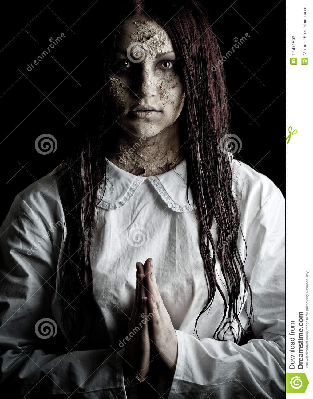 Ghost Girl Stock Photography - Image: 17471592
