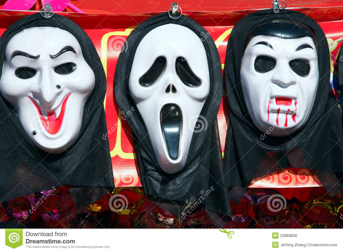 Ghost Mask Stock Photo - Image: 22989830