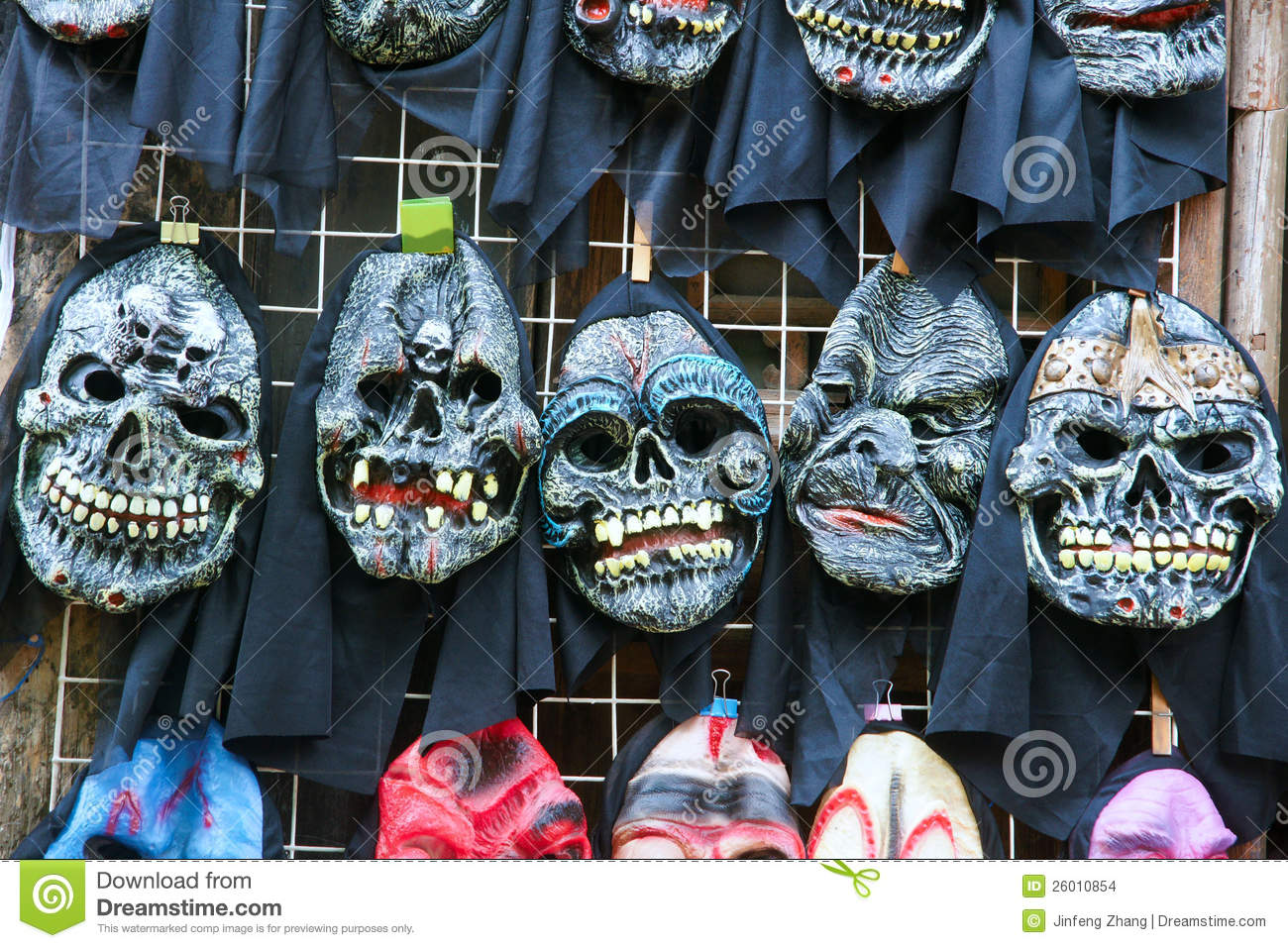 Ghost Mask Stock Images - Image: 26010854