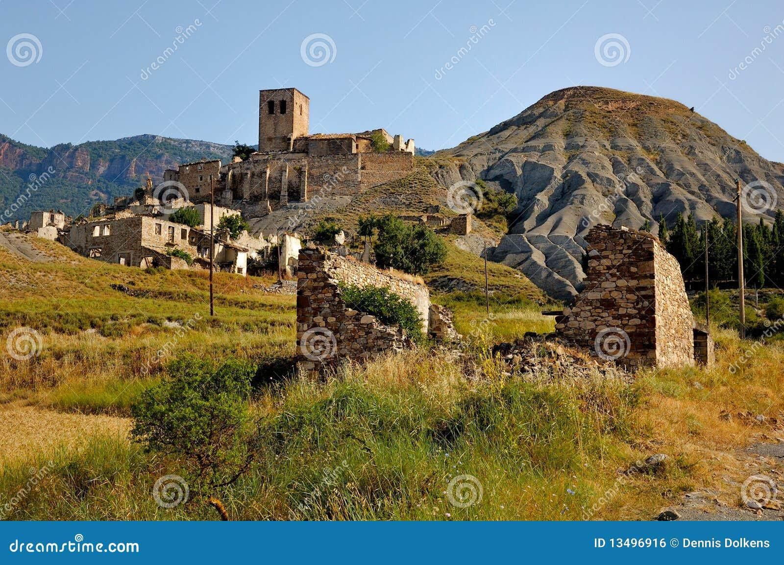 Ghost Town in Spain