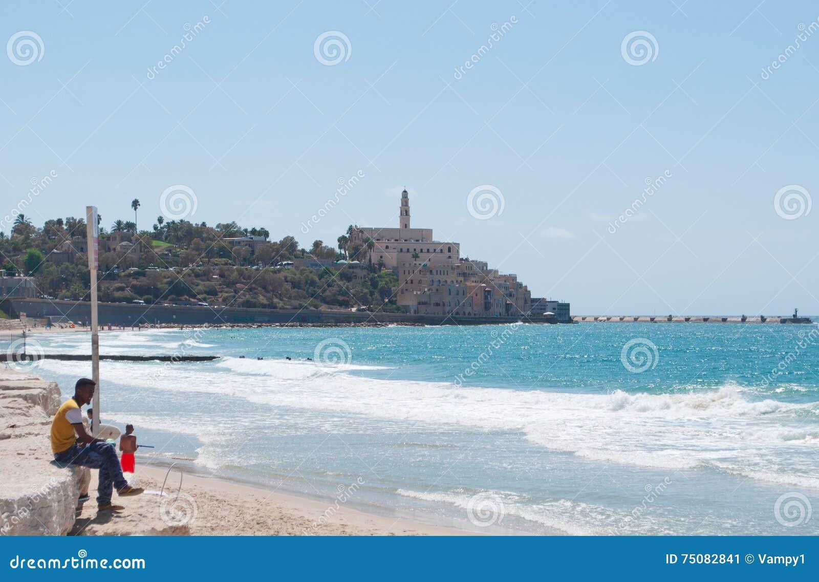 Giaffa, vecchia città, Israele, Medio Oriente
