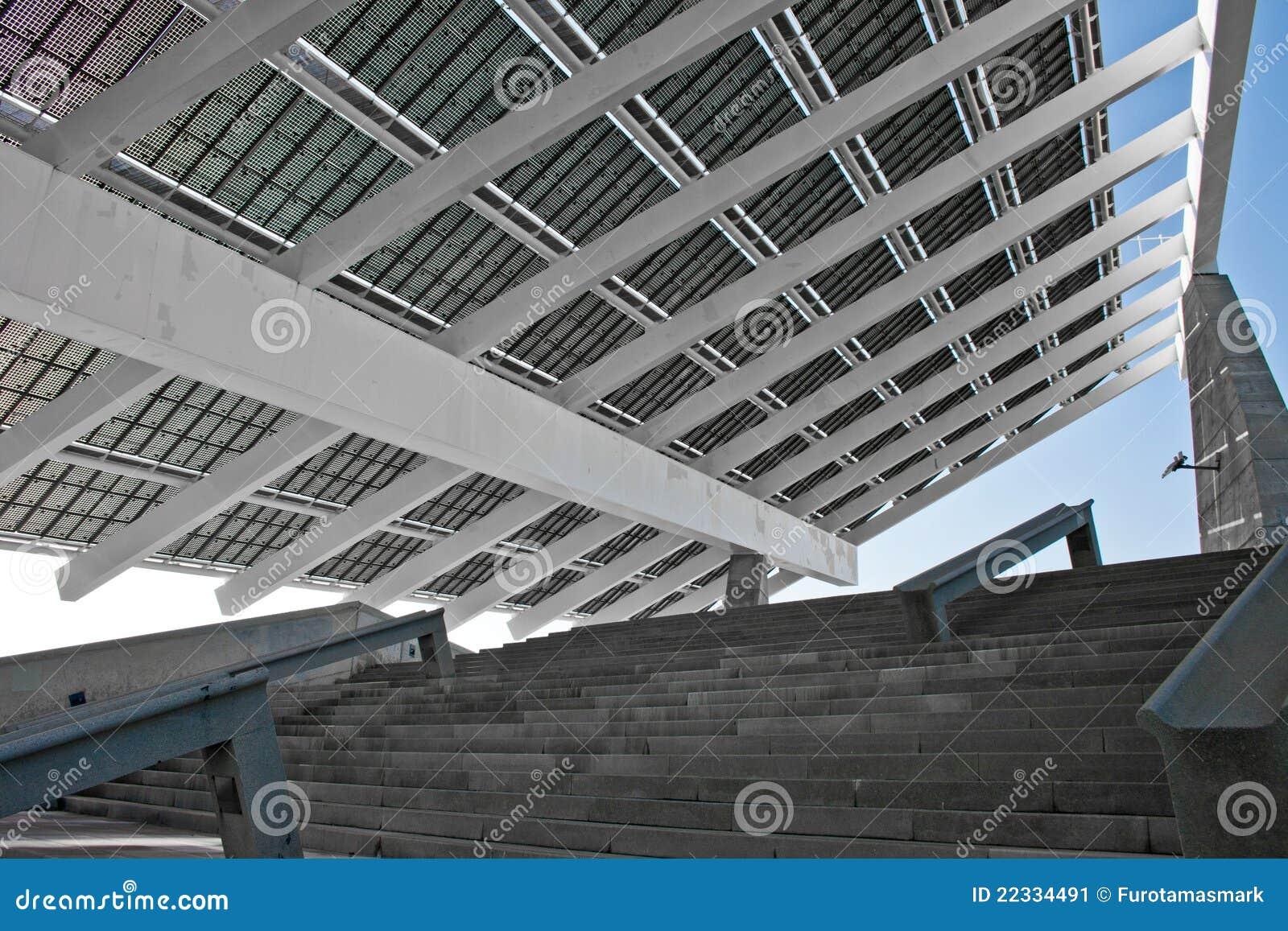 Giant solar panel in detail barcelona stock image image - Solar barcelona ...