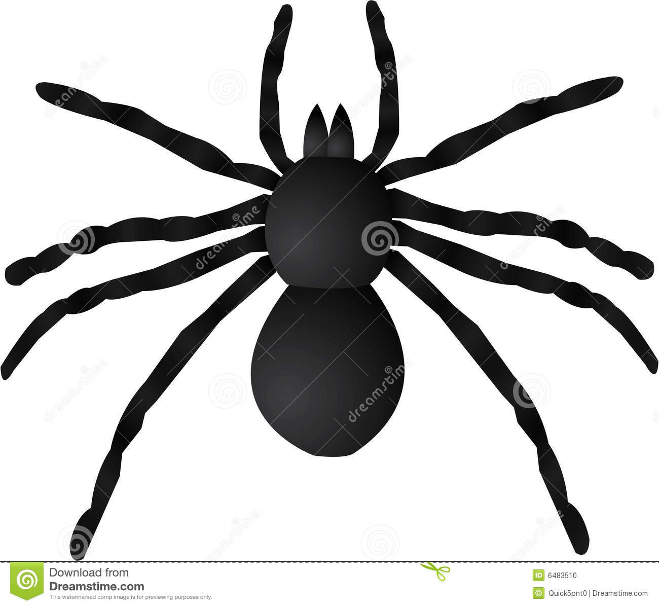 Giant Spider On House Halloween