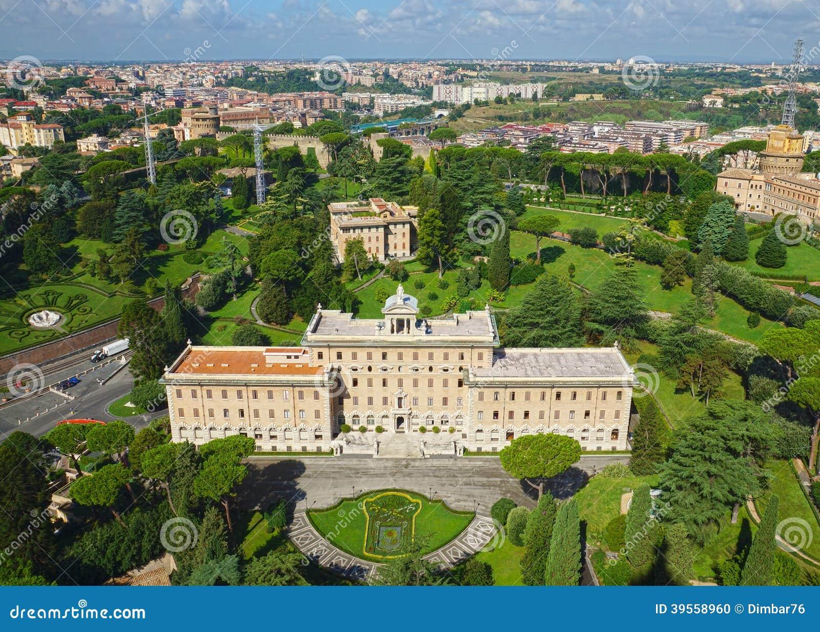Giardini del vaticano a roma italia fotografia stock for Giardini giapponesi roma