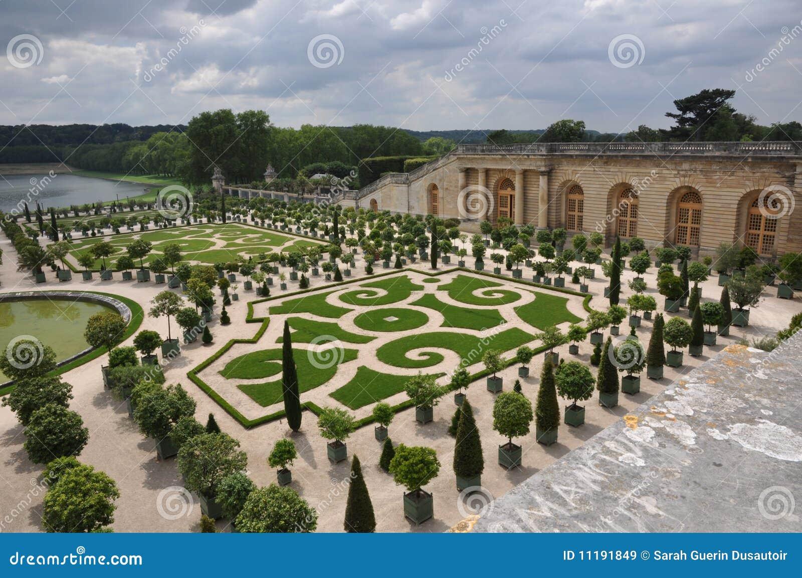 Giardini di versaille immagine stock immagine di francese