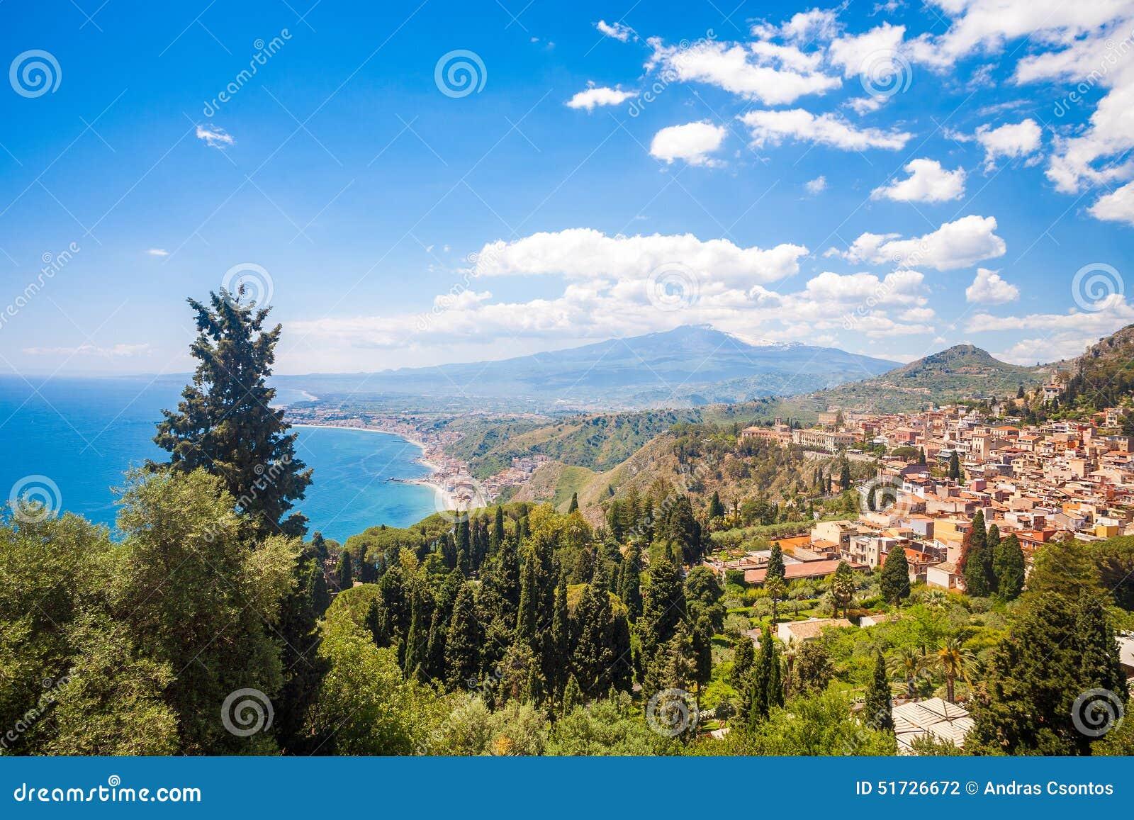 Giardini naxos stock photo image 51726672 for Giardini naxos sicilia