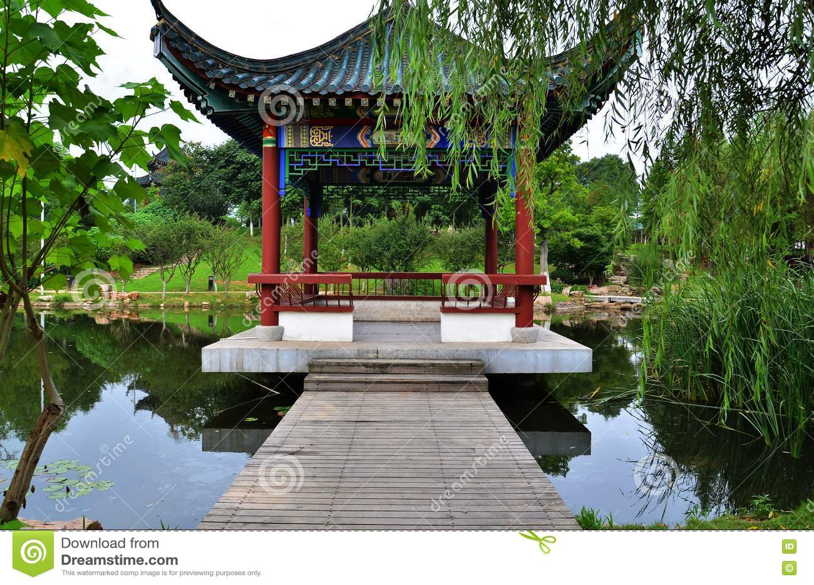 Giardino cinese fotografia stock libera da diritti for Giardino cinese