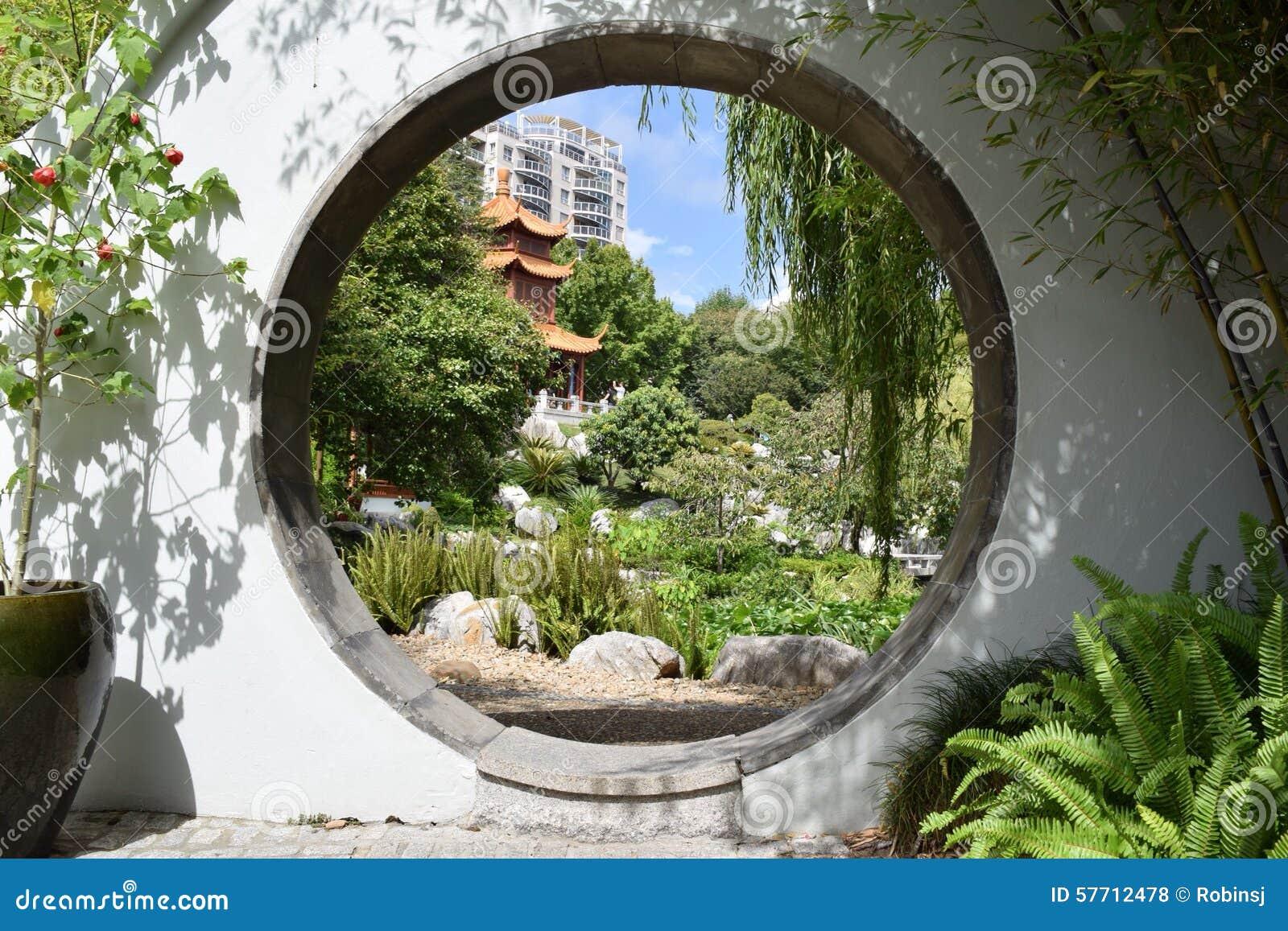 Giardino cinese fotografia stock immagine 57712478 for Giardino cinese