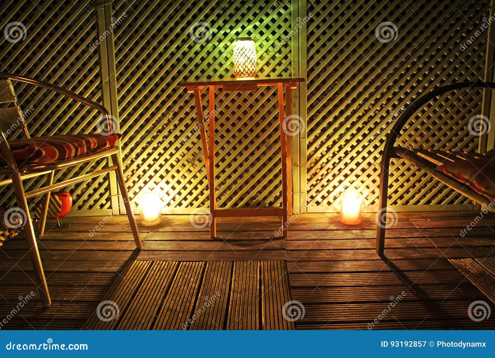 Giardino da lume di candela