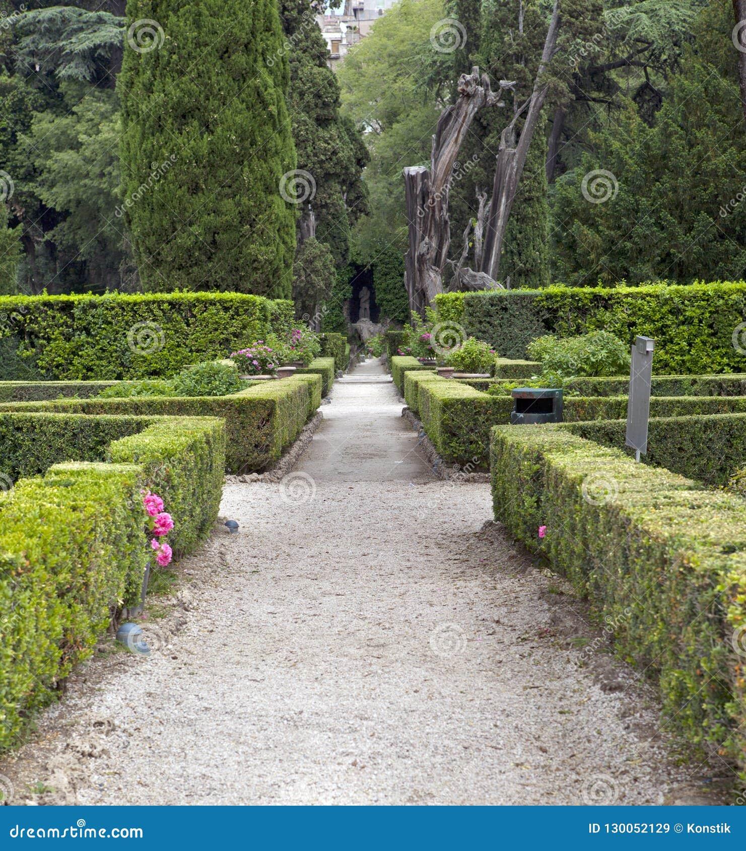 """Giardino di Este16th-century della villa d """", Tivoli, Italia Luogo del patrimonio mondiale dell Unesco"""
