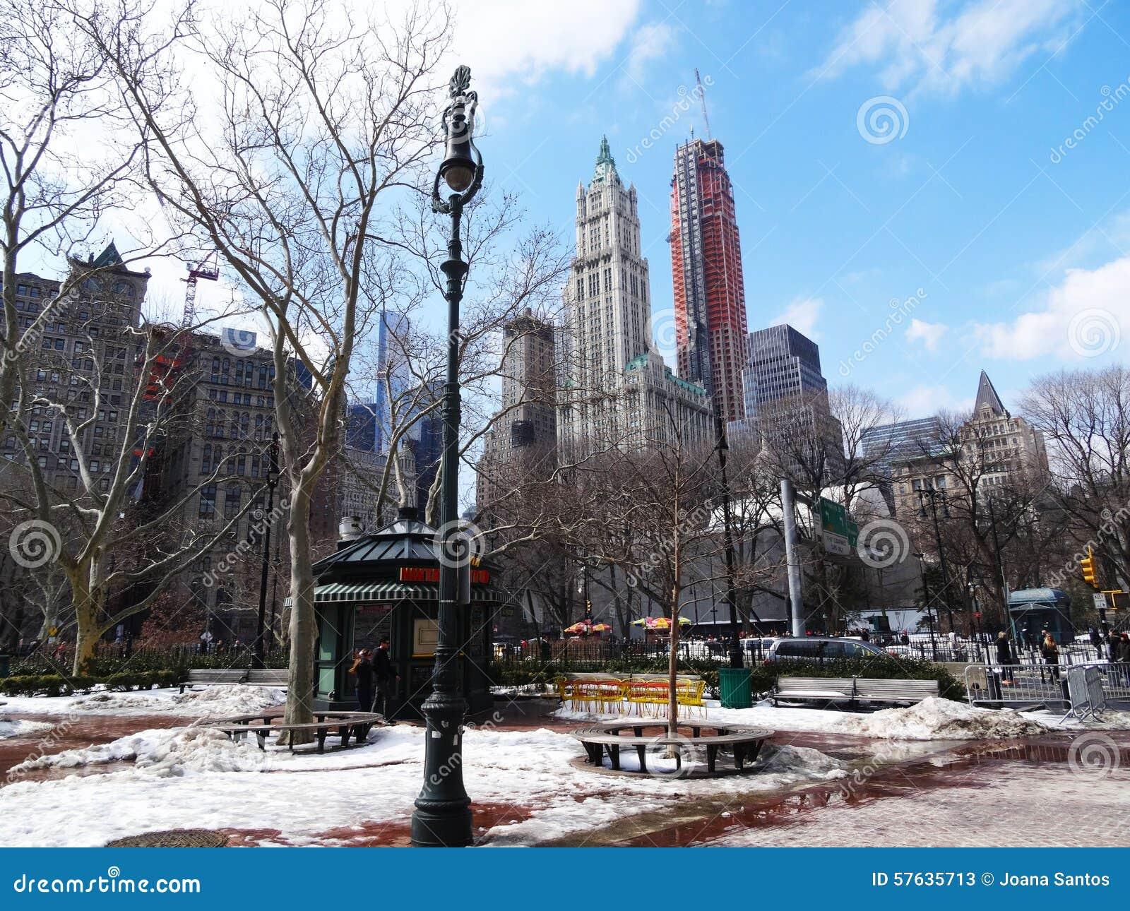 Giardino Di Inverno, New York Fotografia Stock Editoriale - Immagine: 57635713