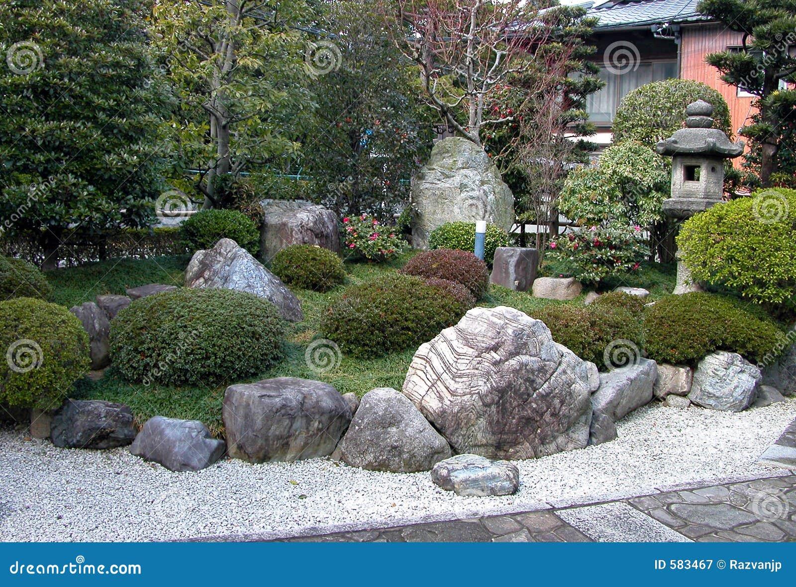 Giardino di rocce fotografia stock libera da diritti - Rocce per giardino ...